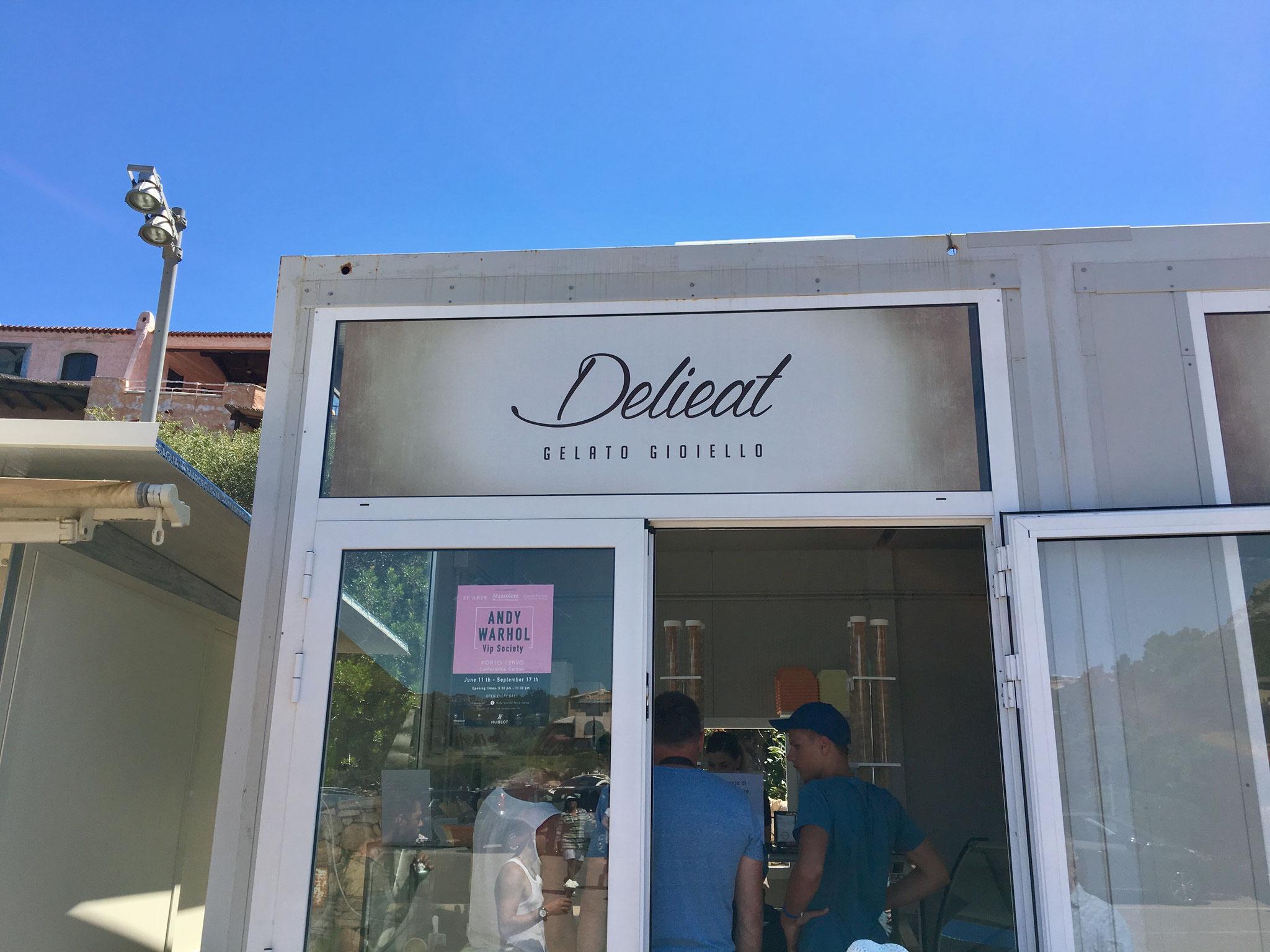 Ice Cream Shop in Porto Cervo