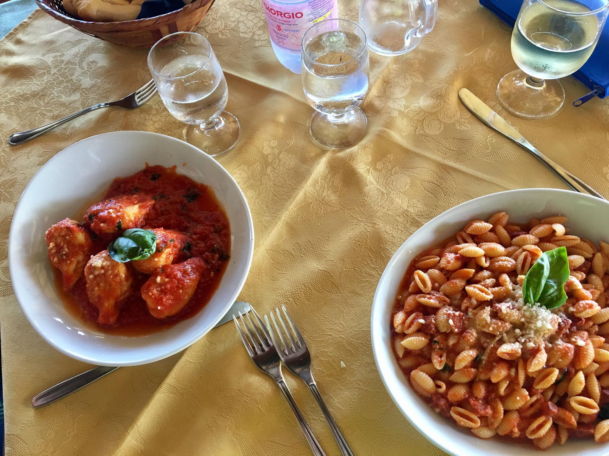 Lunch at the hotel La Vela