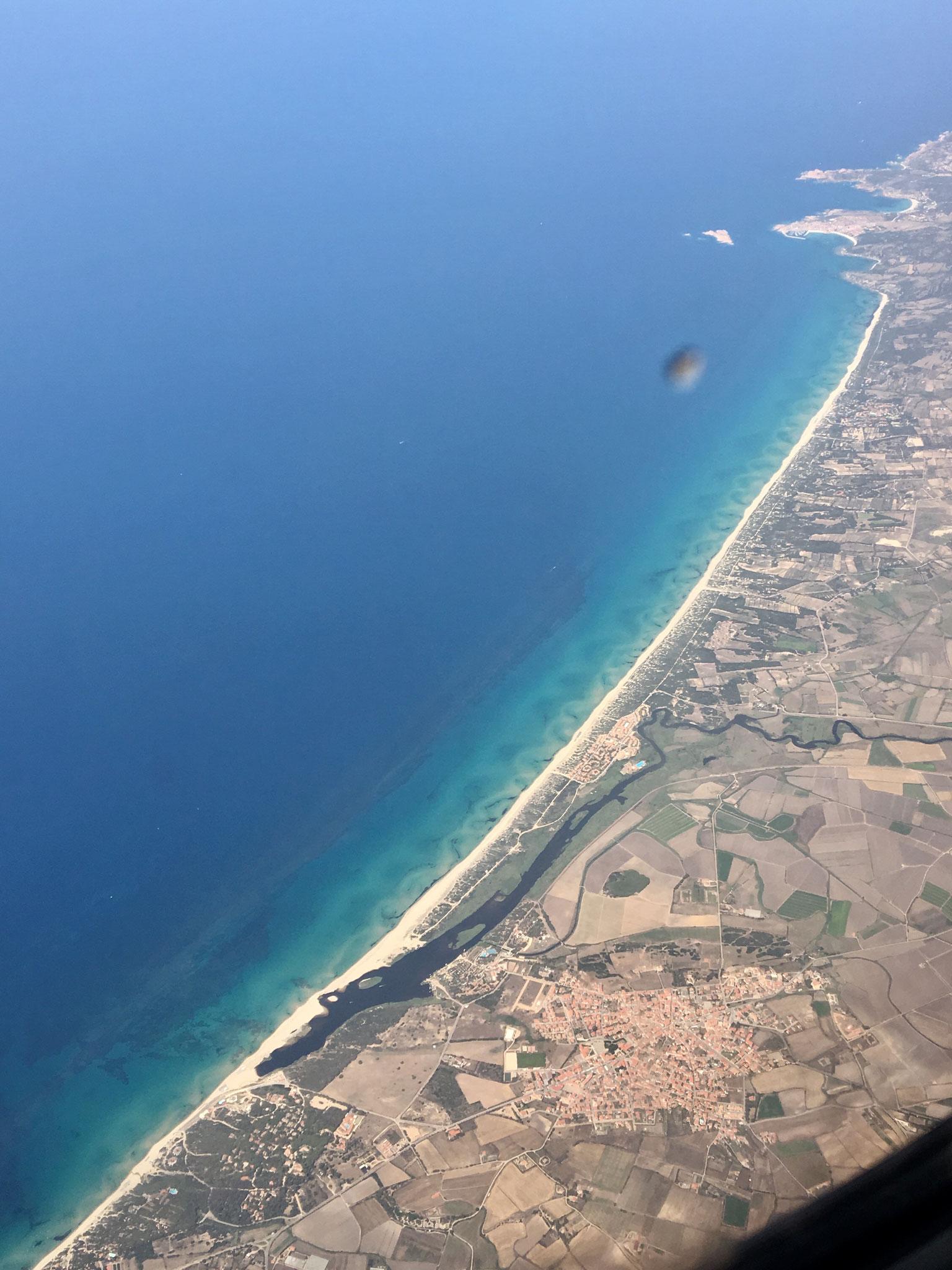 Li Junchi Beach from the air