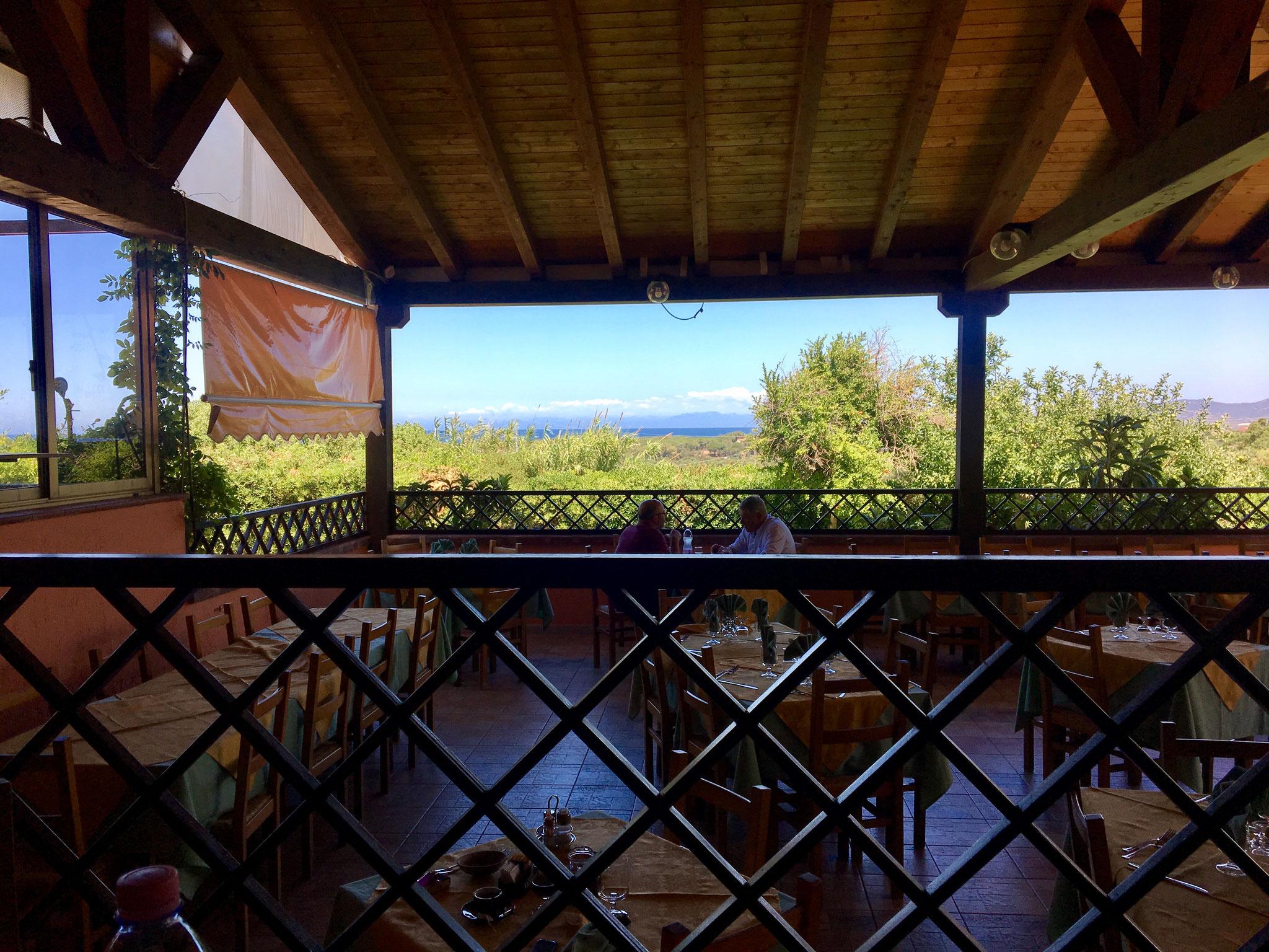 La Vela Hotel Terrace near Valledoria