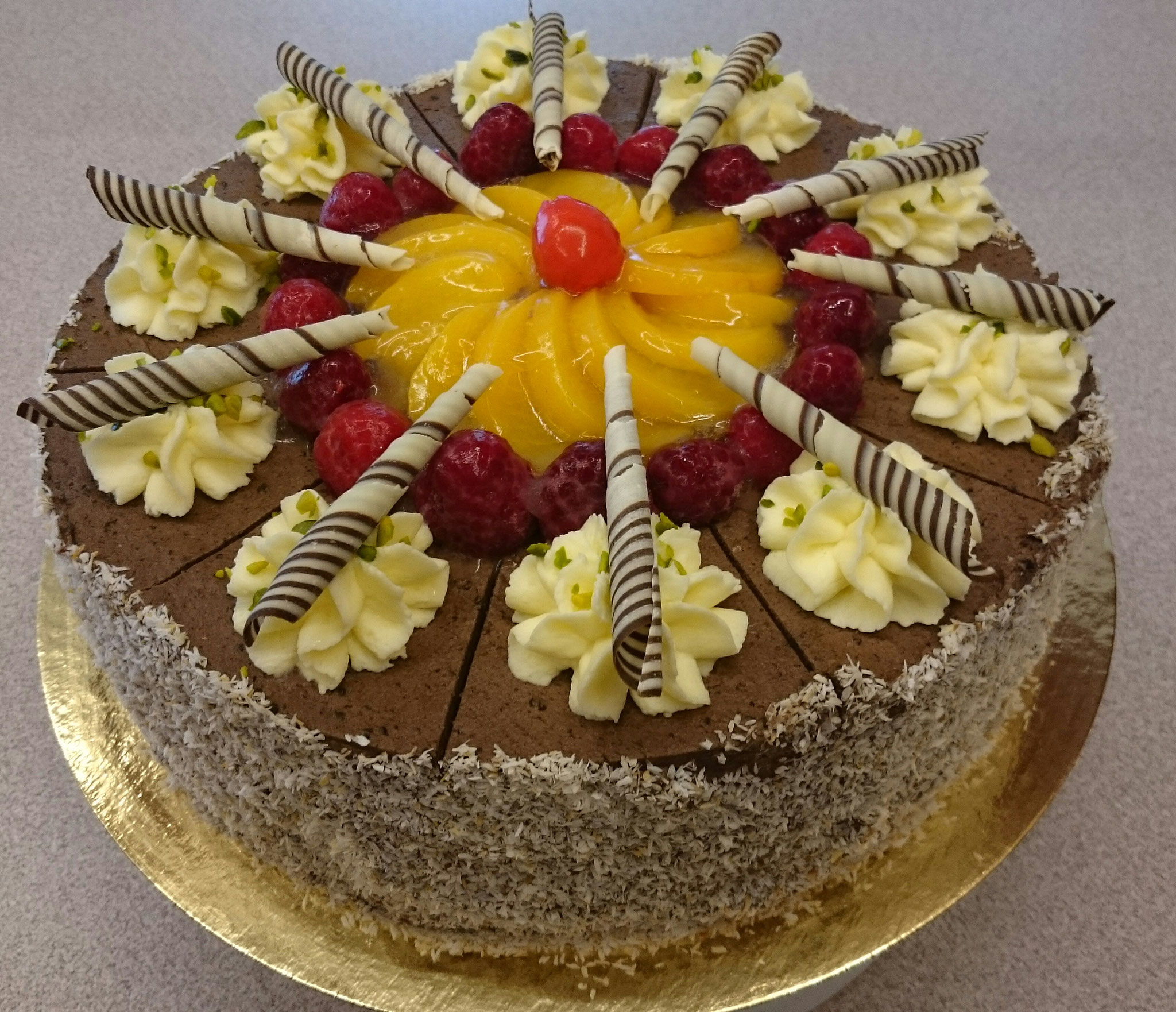 Schoko - Rahm - Torte