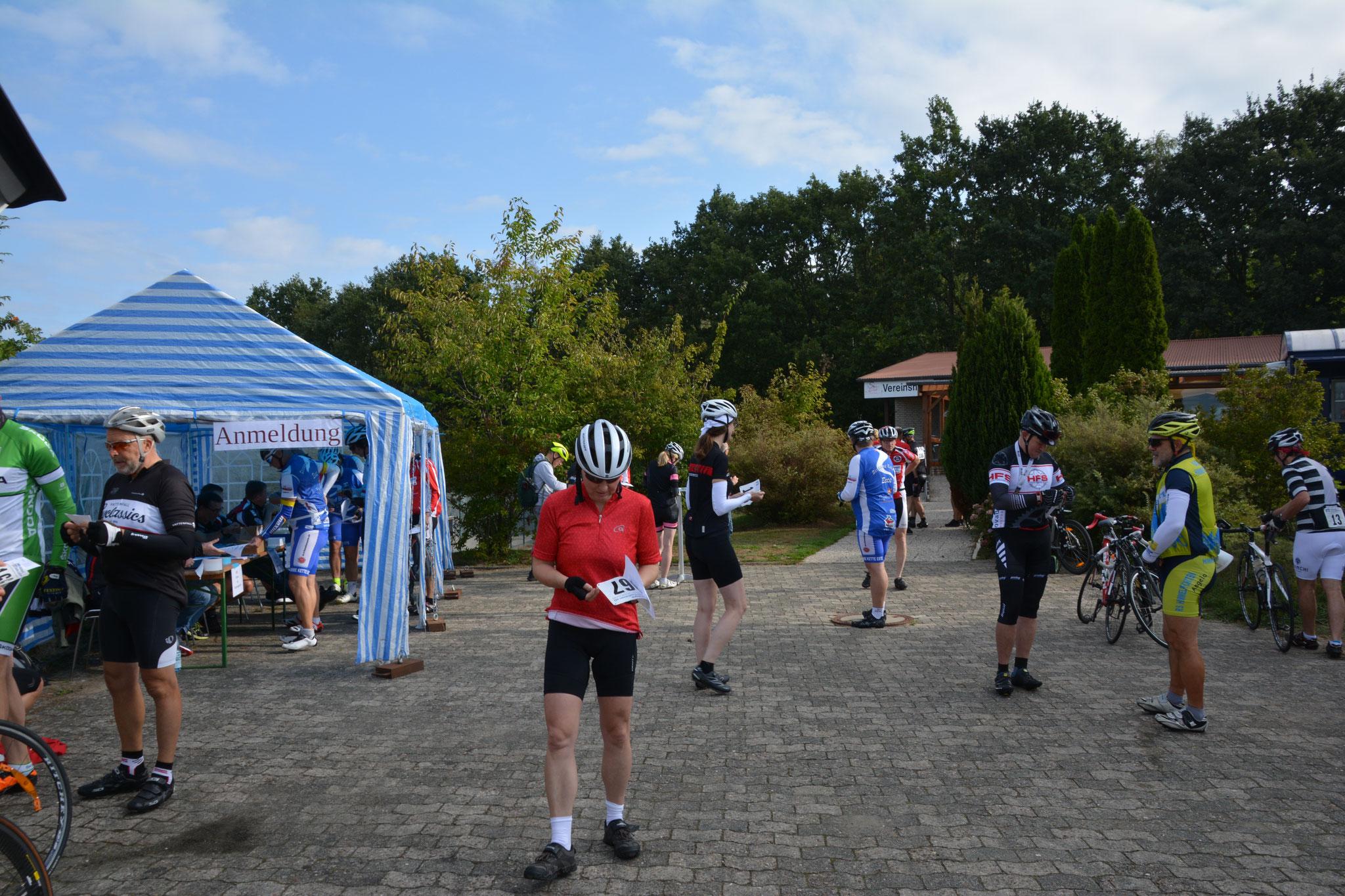 Die Anmeldungen für das Fahrradrennen laufen auf Hochtouren!
