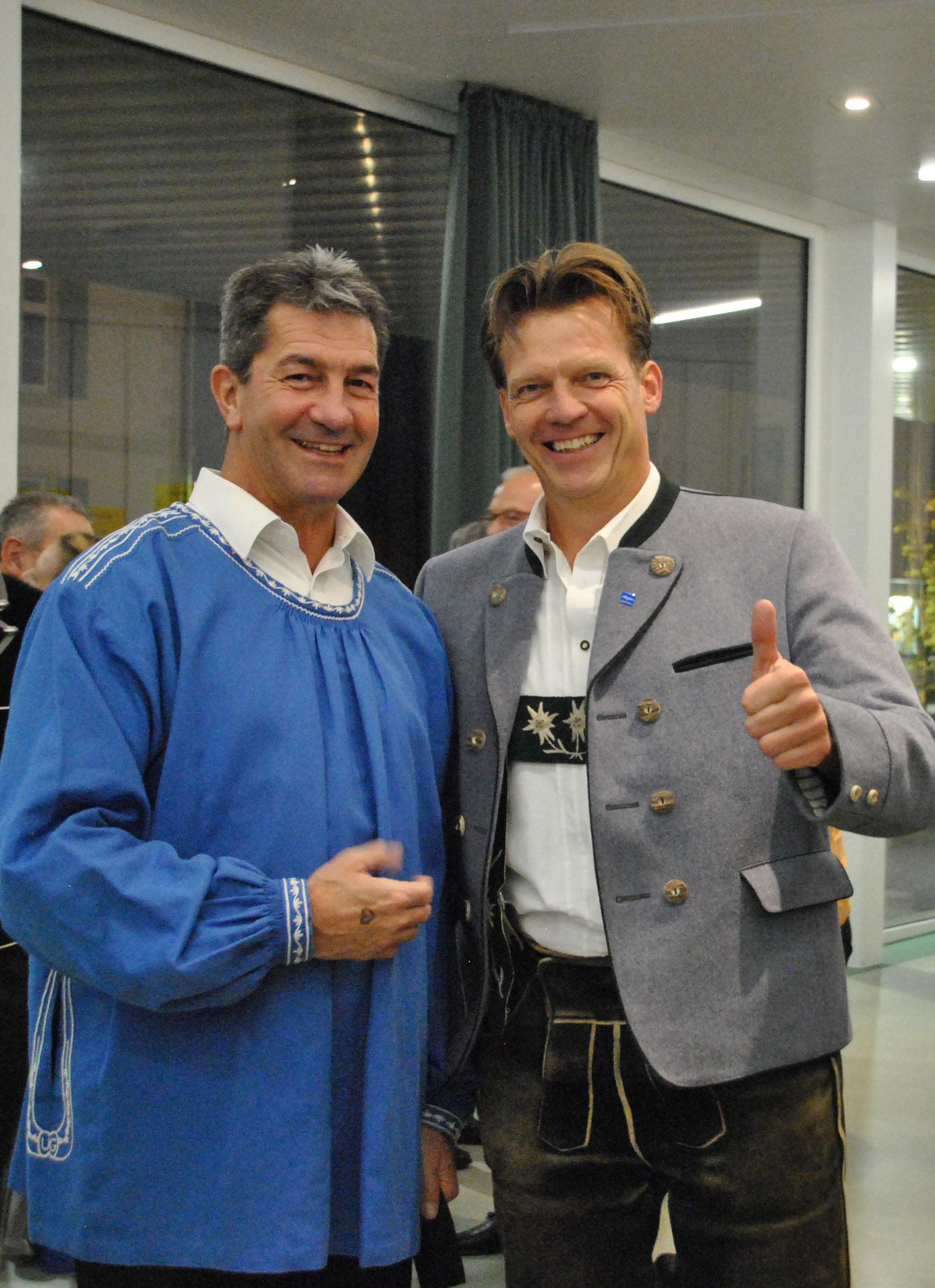 Jörg Böschel us em Allgäu mit em Urs Gehrig