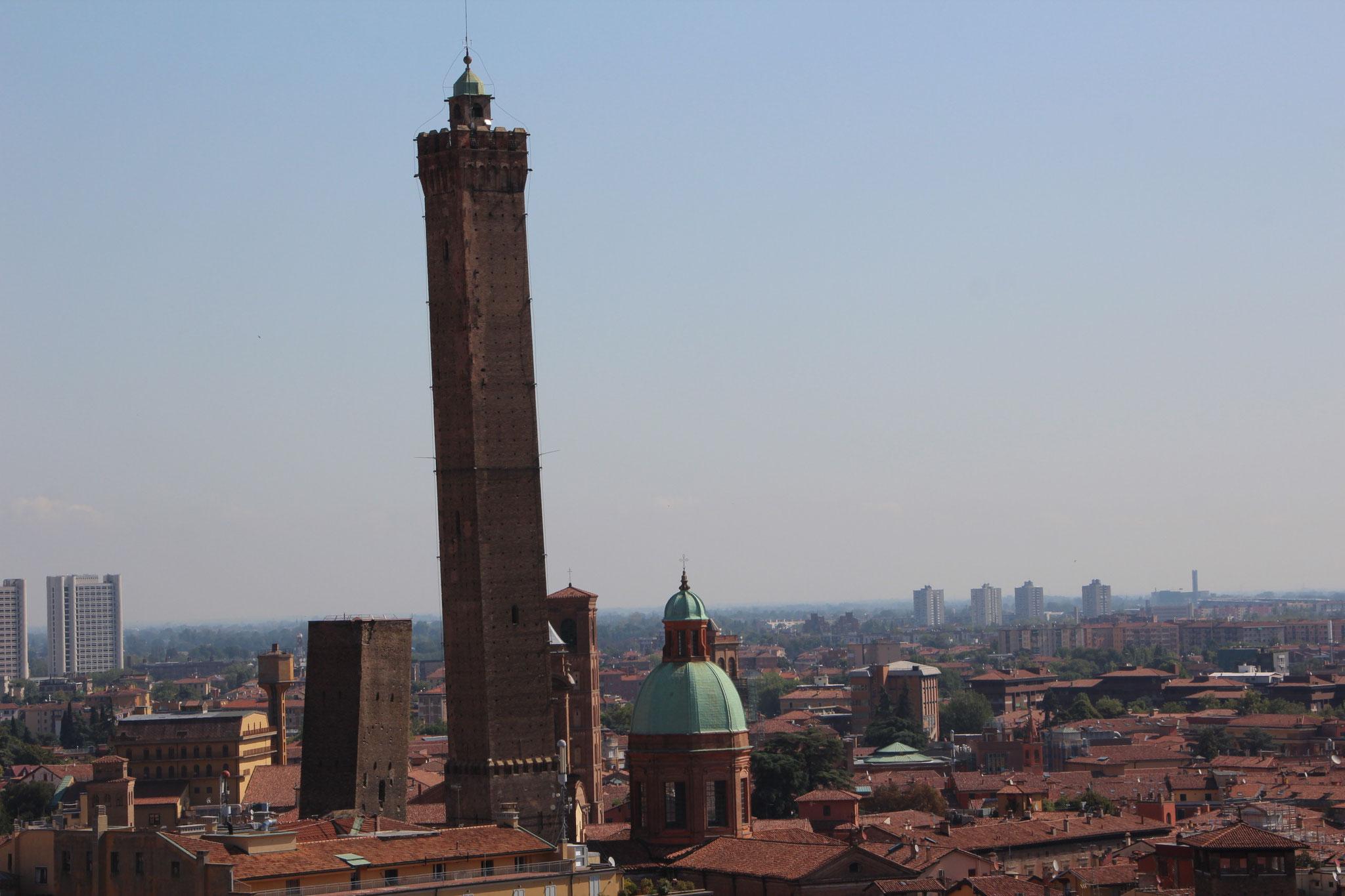 Tours Asinelli et Garisenda, Bologne (1)