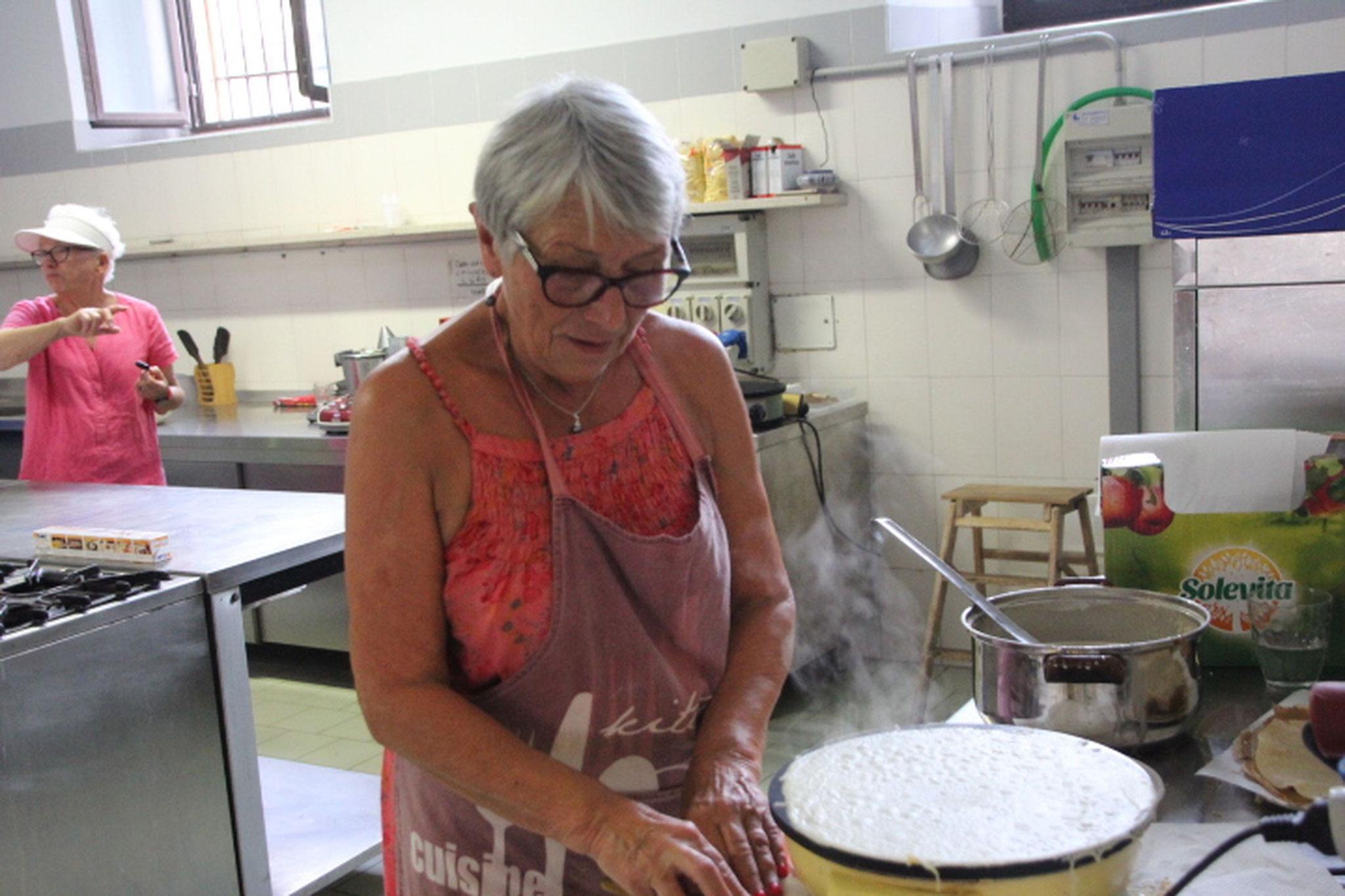 Préparation des crêpes (3)