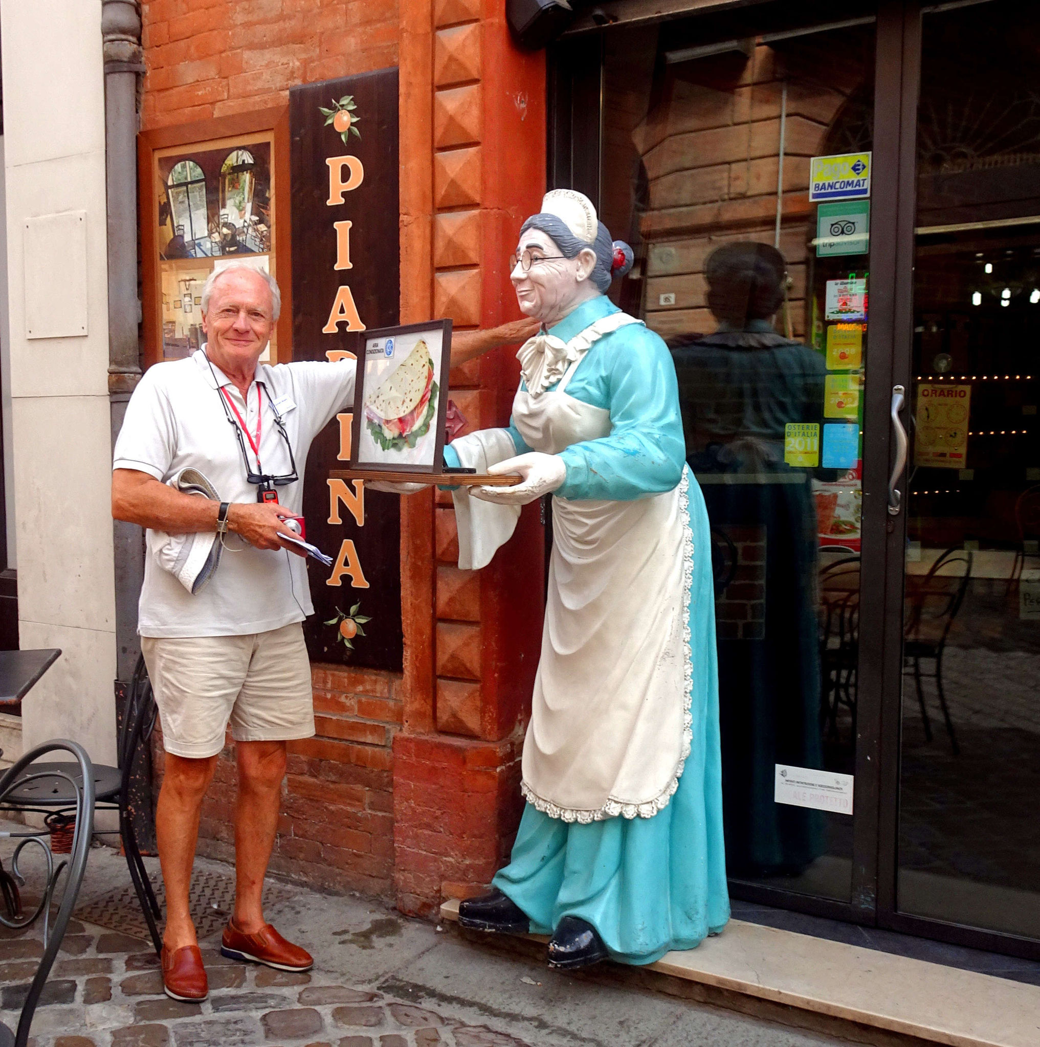 Trébeurdinais en visite à Ravenne