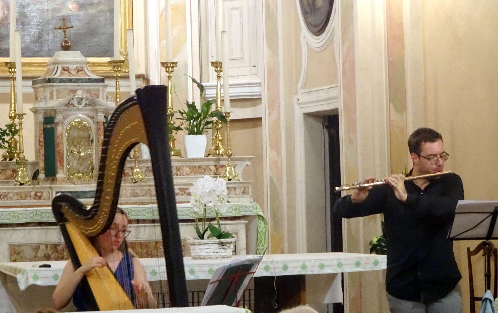 Clara Martello et Matteo Benedetti