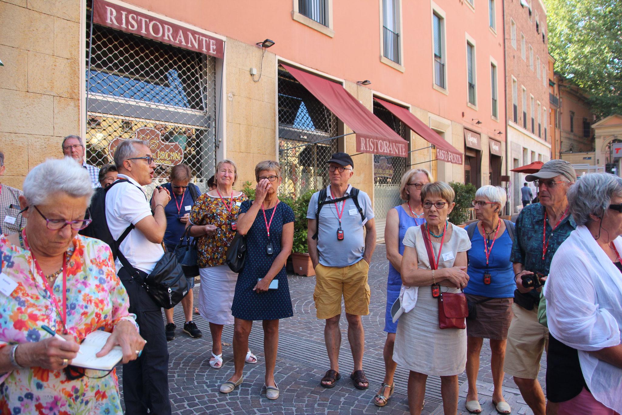 Visite guidée de Bologne