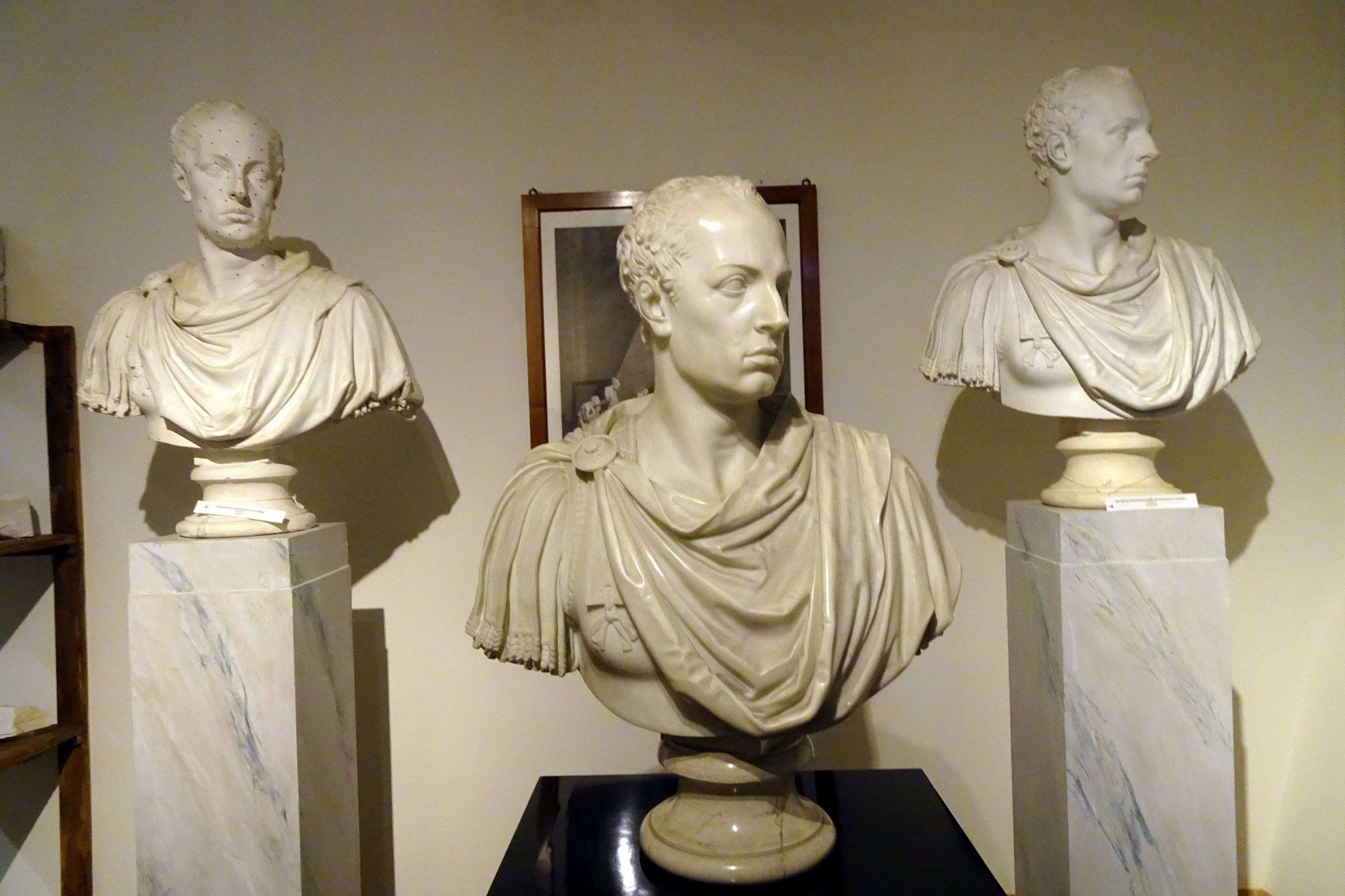Possano, atelier des maquettes de Canova