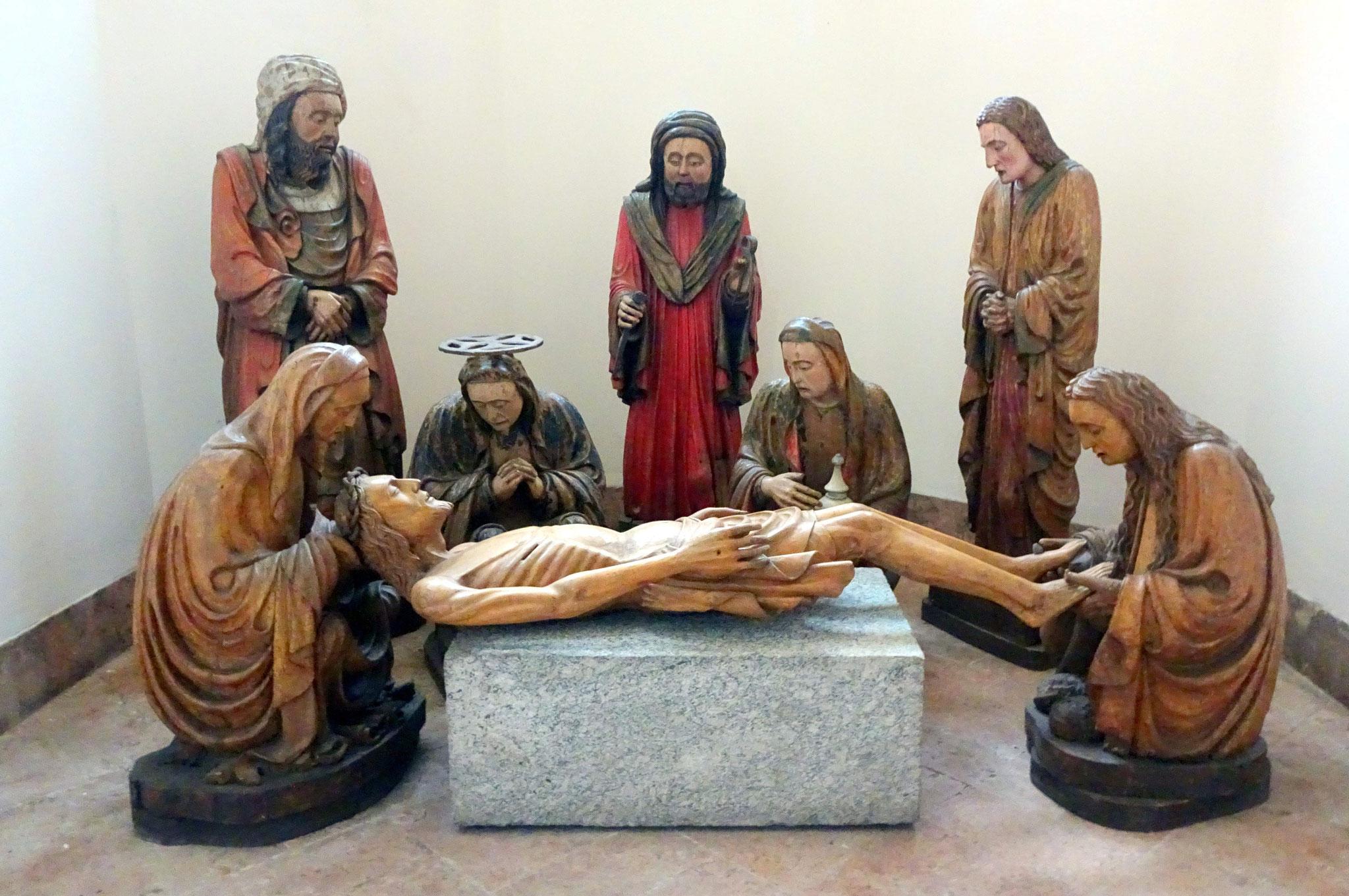Lodi, Pieta dans la crypte du Duomo San Francesco
