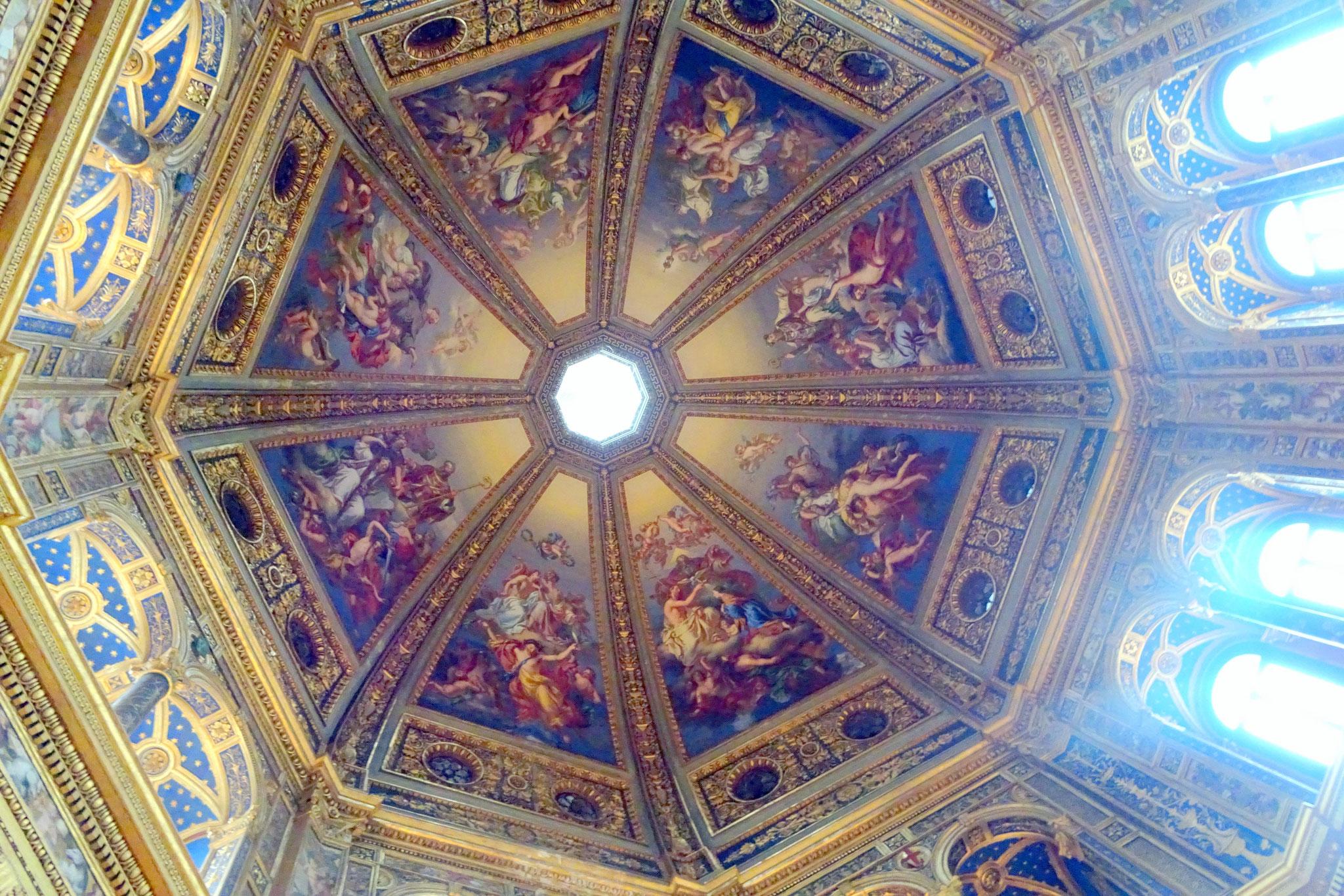 Lodi, coupole de la chapelle dell'Incoronata