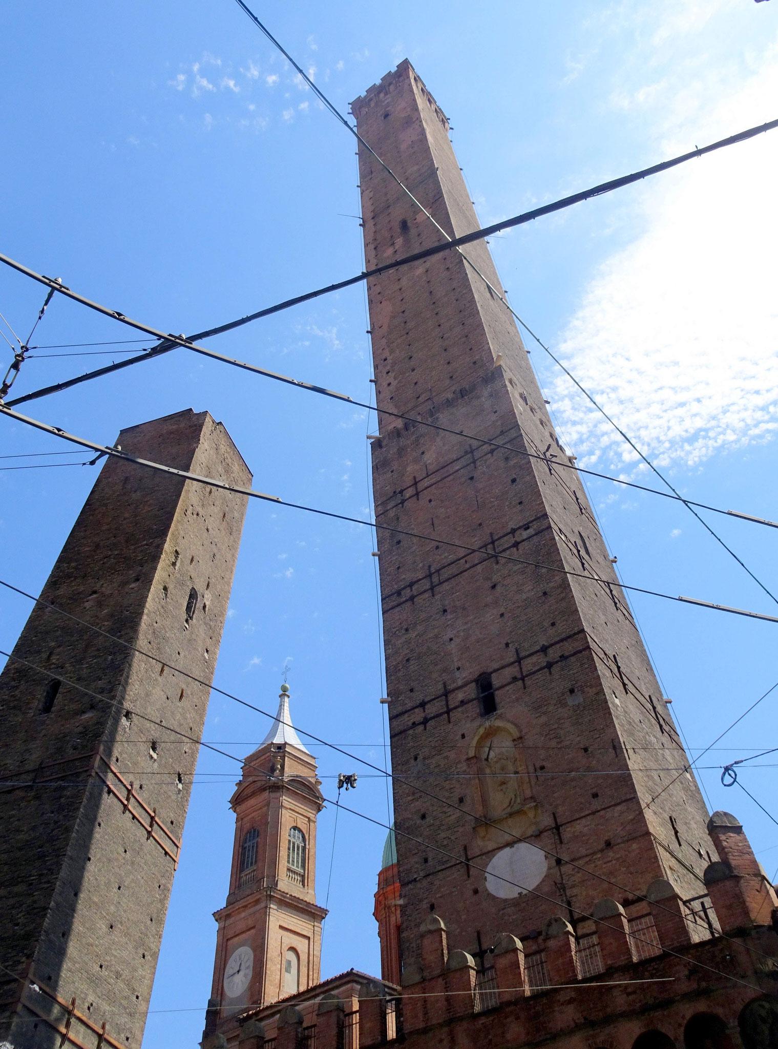 TTours Asinelli et Garisenda, Bologne (2)