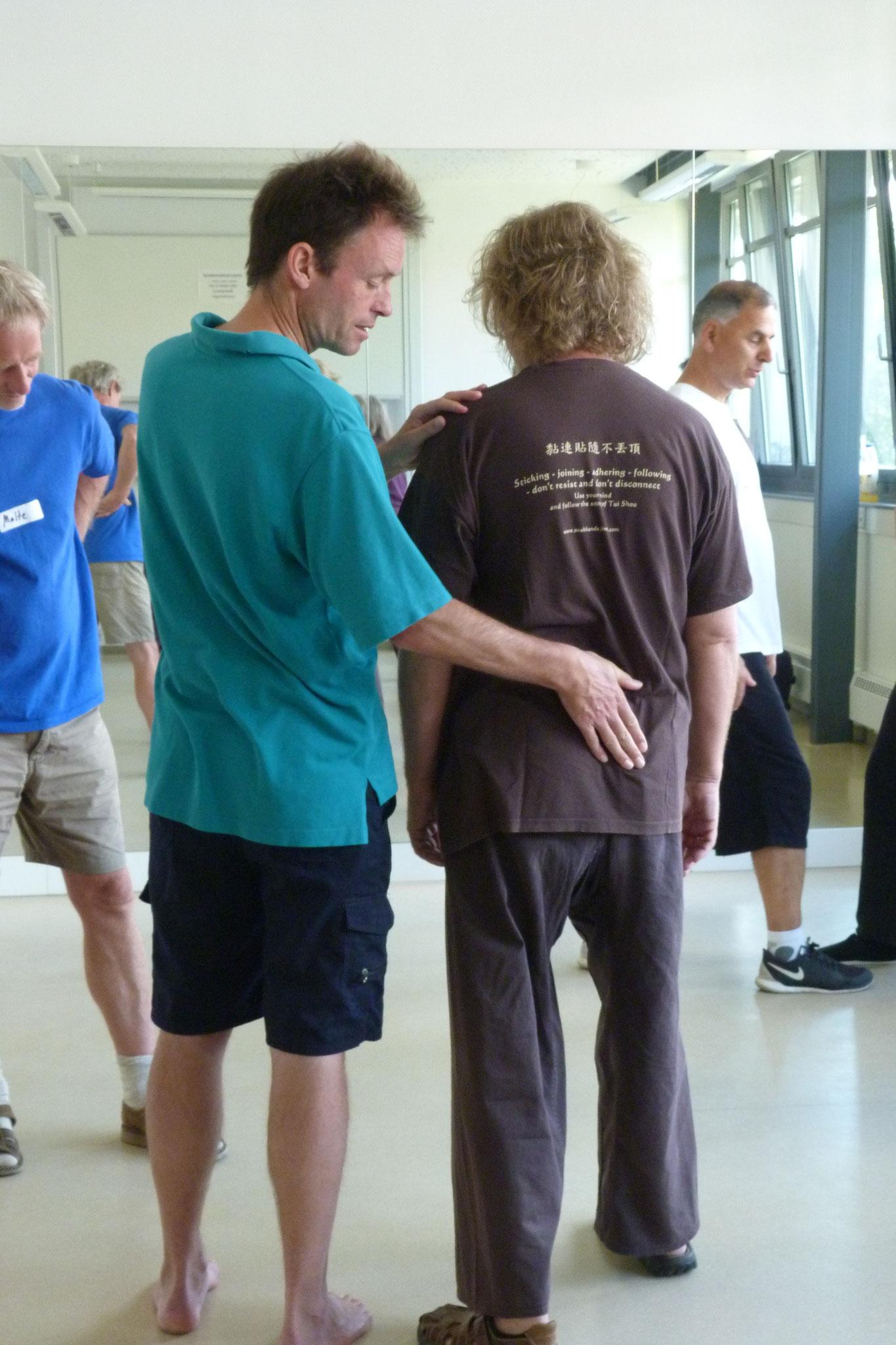 Teaching moments with Roland von Loefen