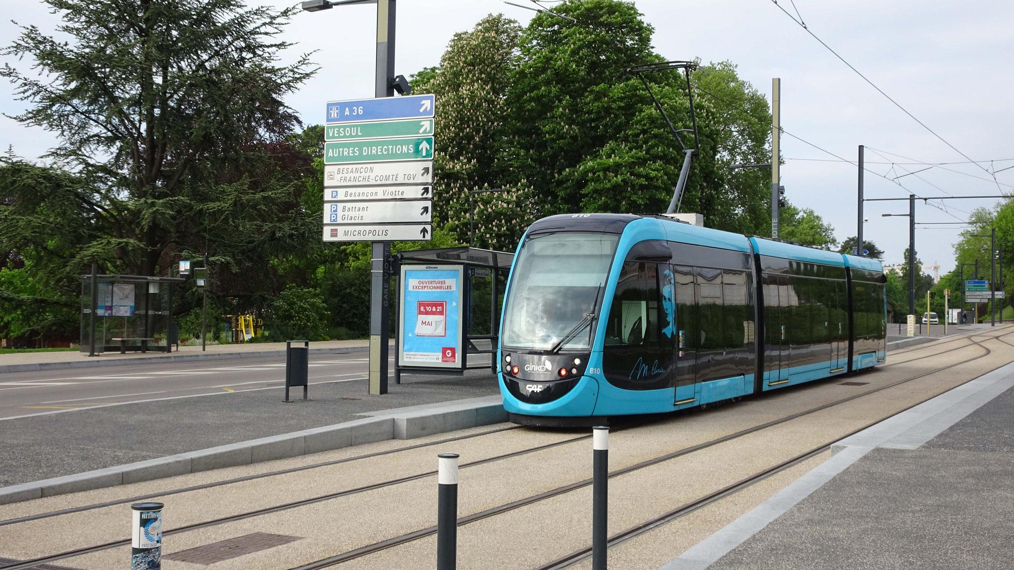 Tram in Besançon