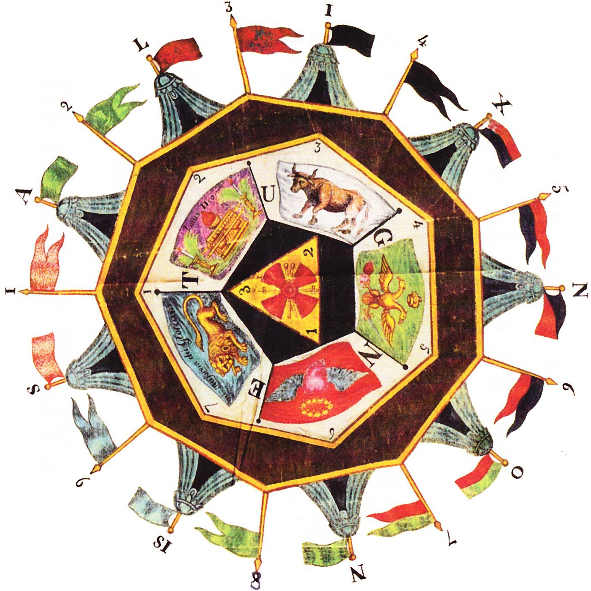 Le sceau du Sublime Prince du Royal Secret modèle fourni par le client.