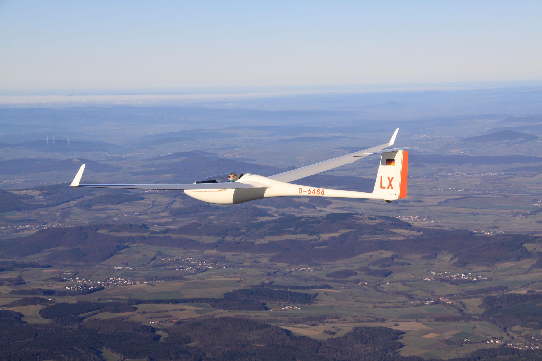 Segelfliegen macht -auch im Winter-  einfach nur Spaß!