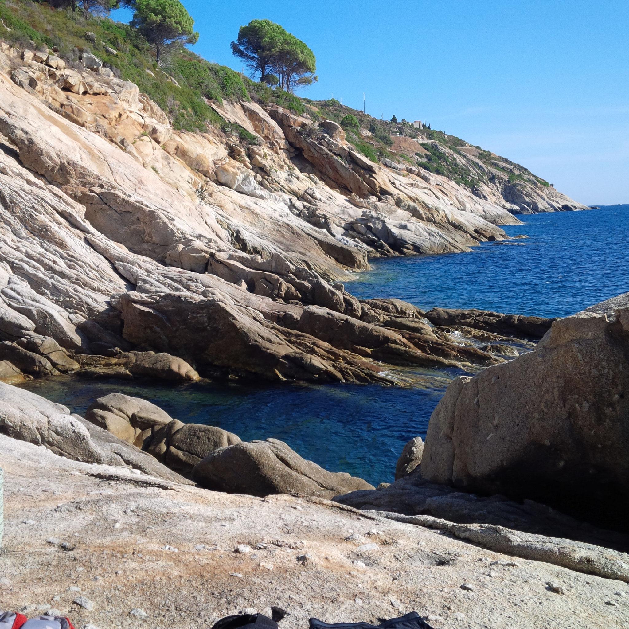 Küste Richtung Pomonte