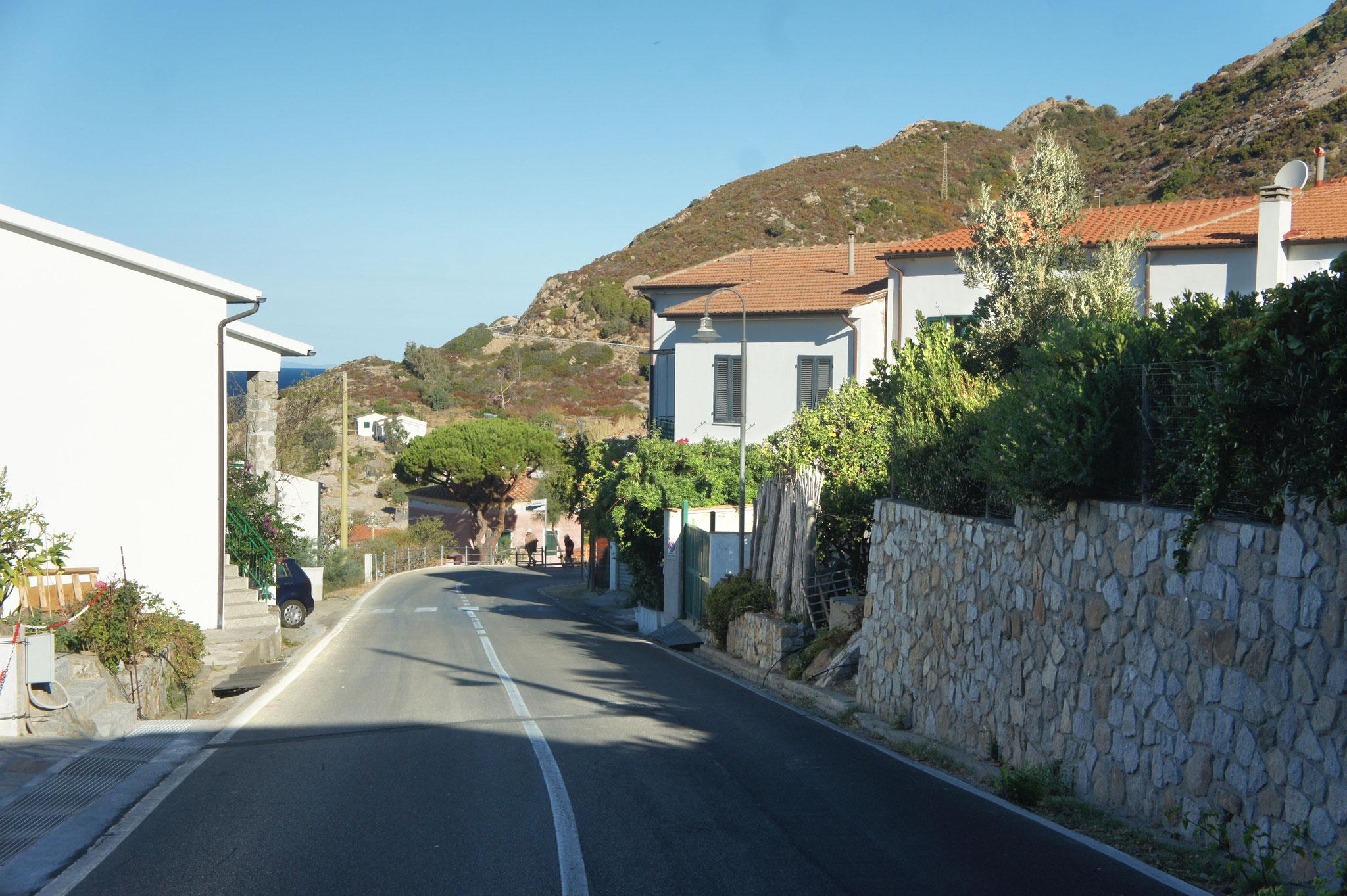 La route après Chiessi village