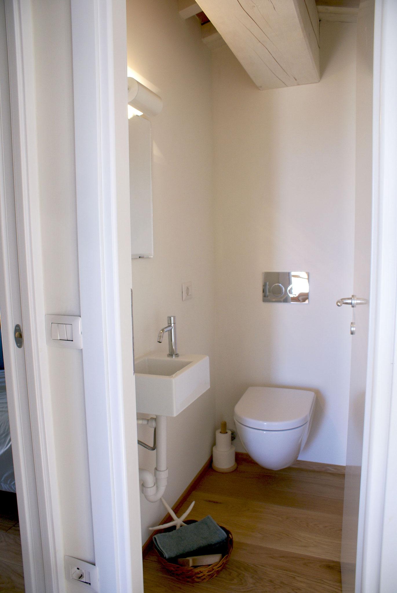 La toilette chez les chambres à coucher