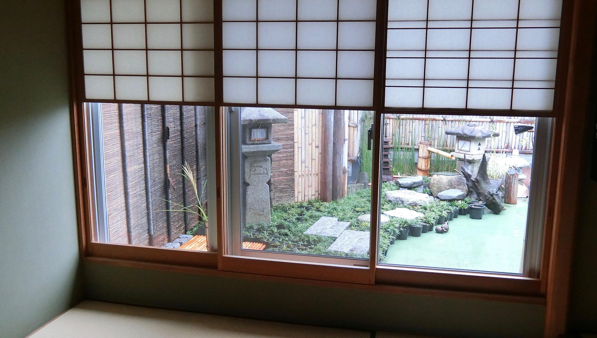 茶道雅流 空中庭園