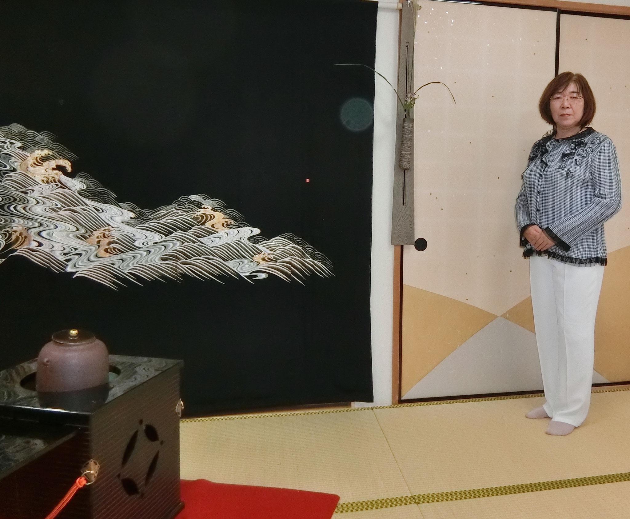 水屋責任者田村