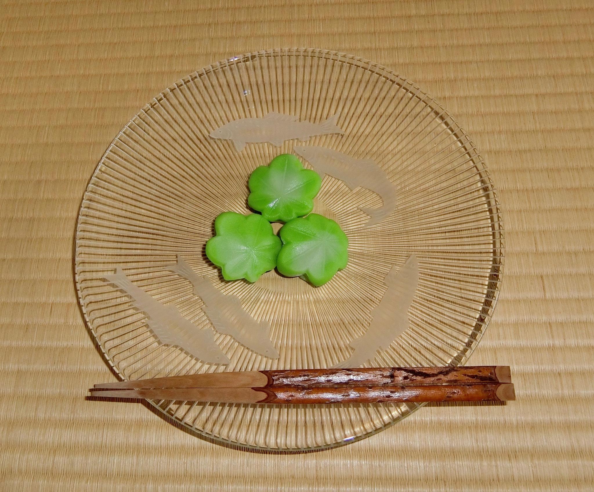主菓子 青嵐
