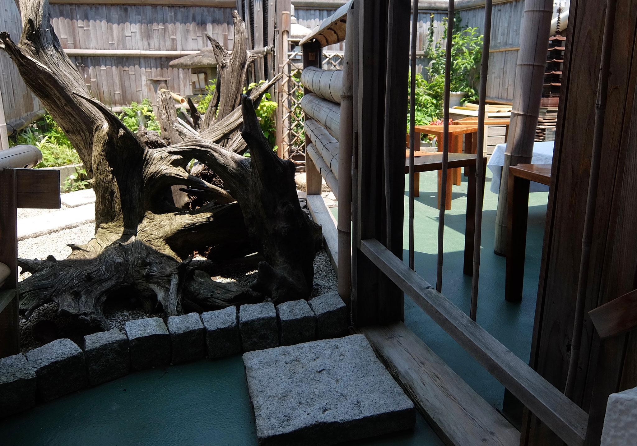 茶道雅流空中庭園