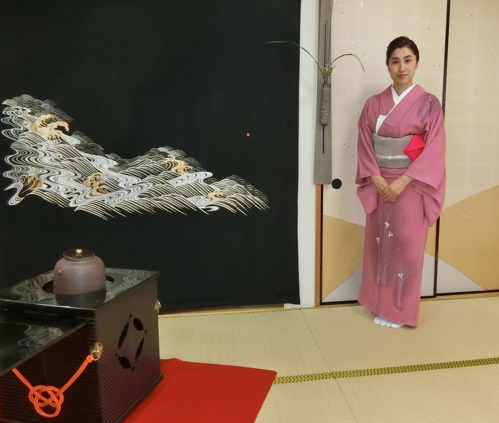 水谷雅由(茶道雅流当代宗家)