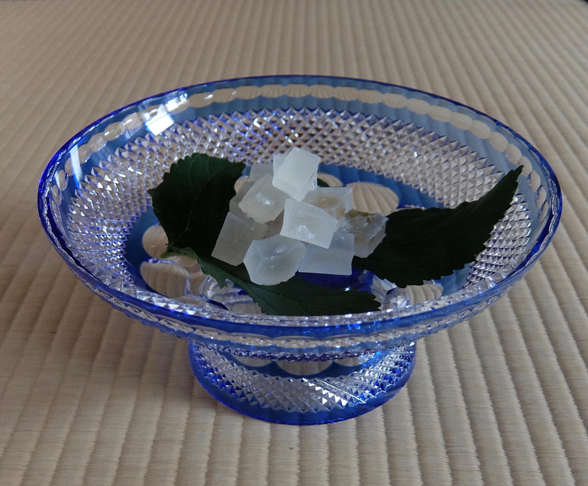 江戸切子 菓子氷室