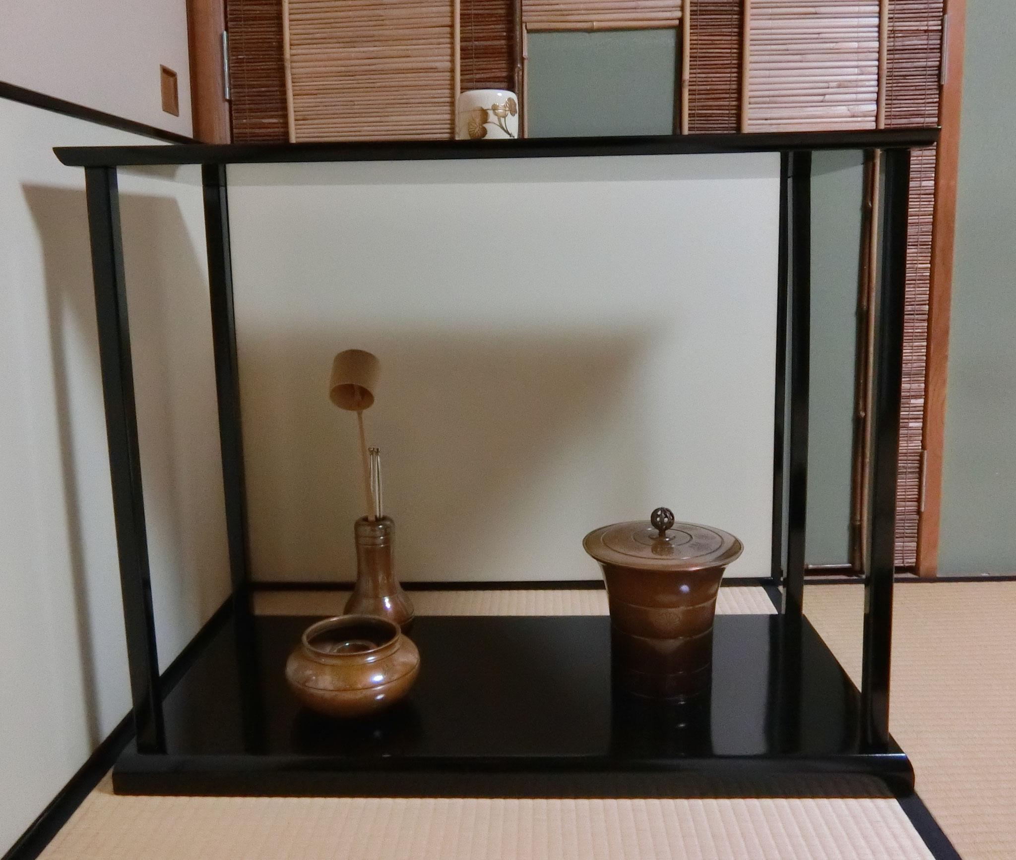 真台子総飾り 明治神宮献茶使用皆具