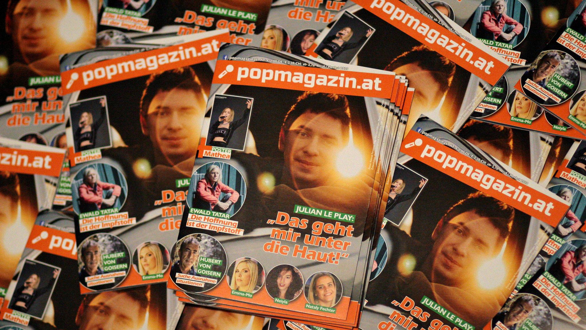 Die Herbstausgabe des POPMAGAZINs ist ab sofort erhältlich!