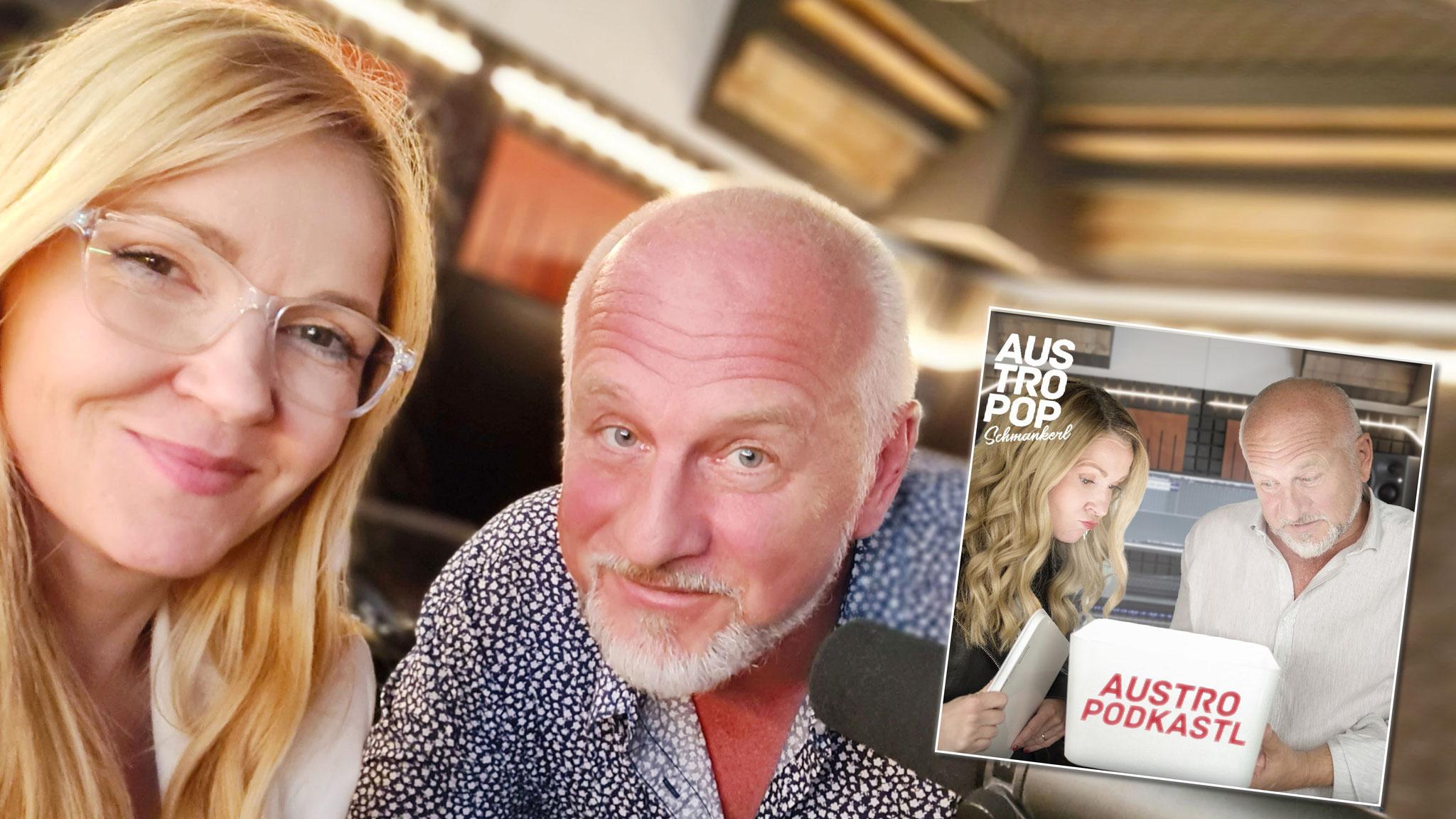 """AUSTRO PODKASTL-Moderatorin Susanne Kristek: """"Austropop ist bei jungen Leuten wieder cool!"""""""