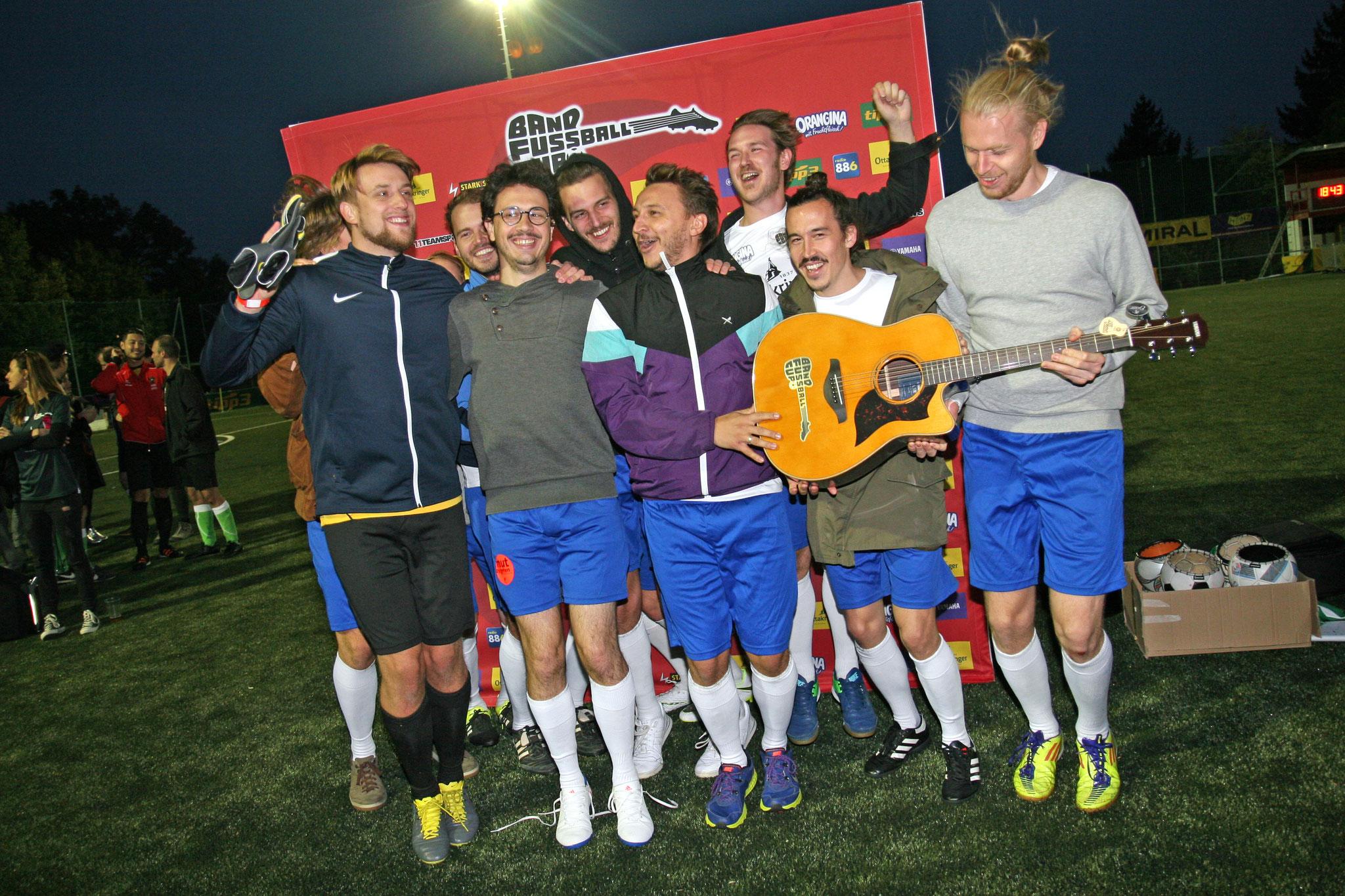 Folkshilfe gewinnen Band Fussball Cup, 06.10.2019 (c) miggl.at
