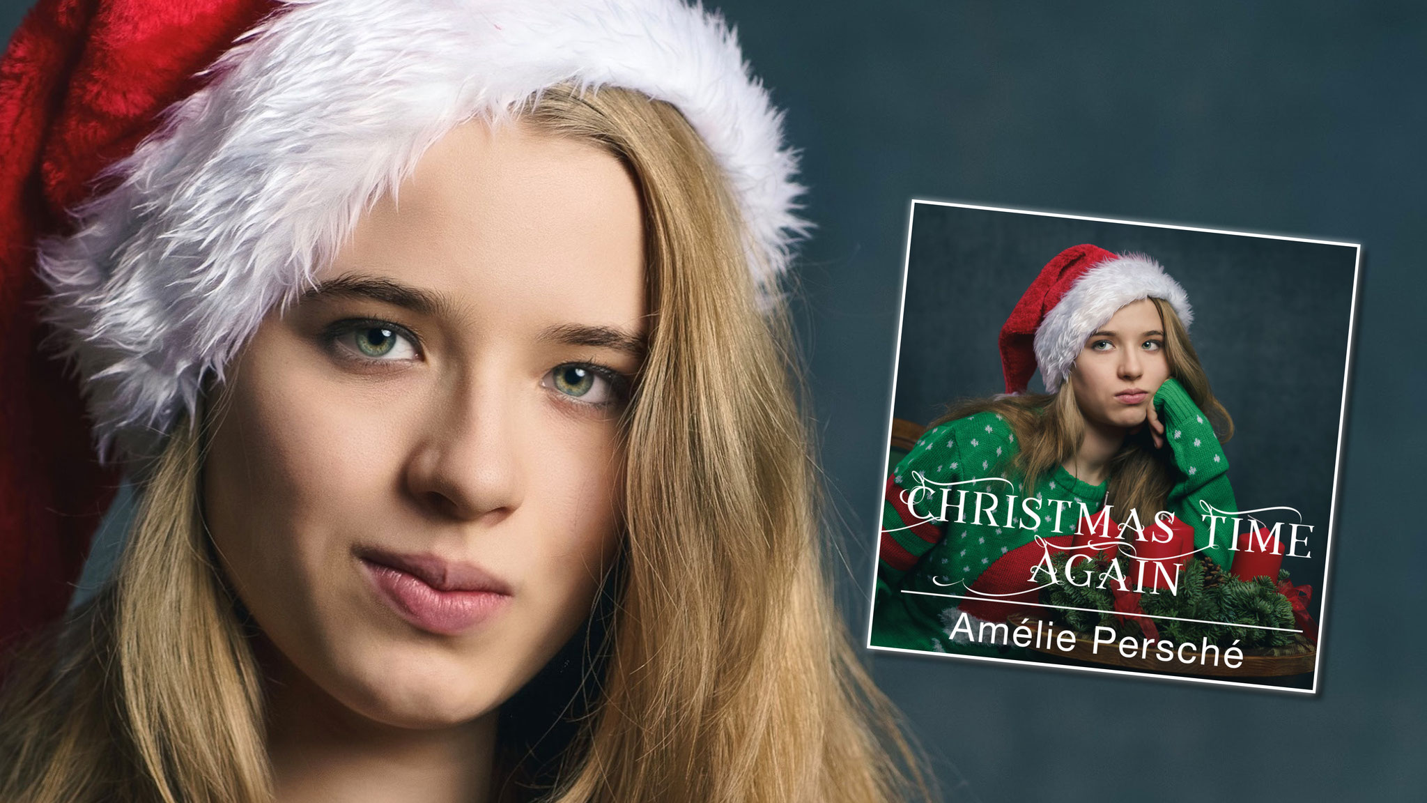 "Amélie Persché mit sarkastischer Weihnachtssingle ""Christmas Time Again"" (c) Alexander Bachmayer"