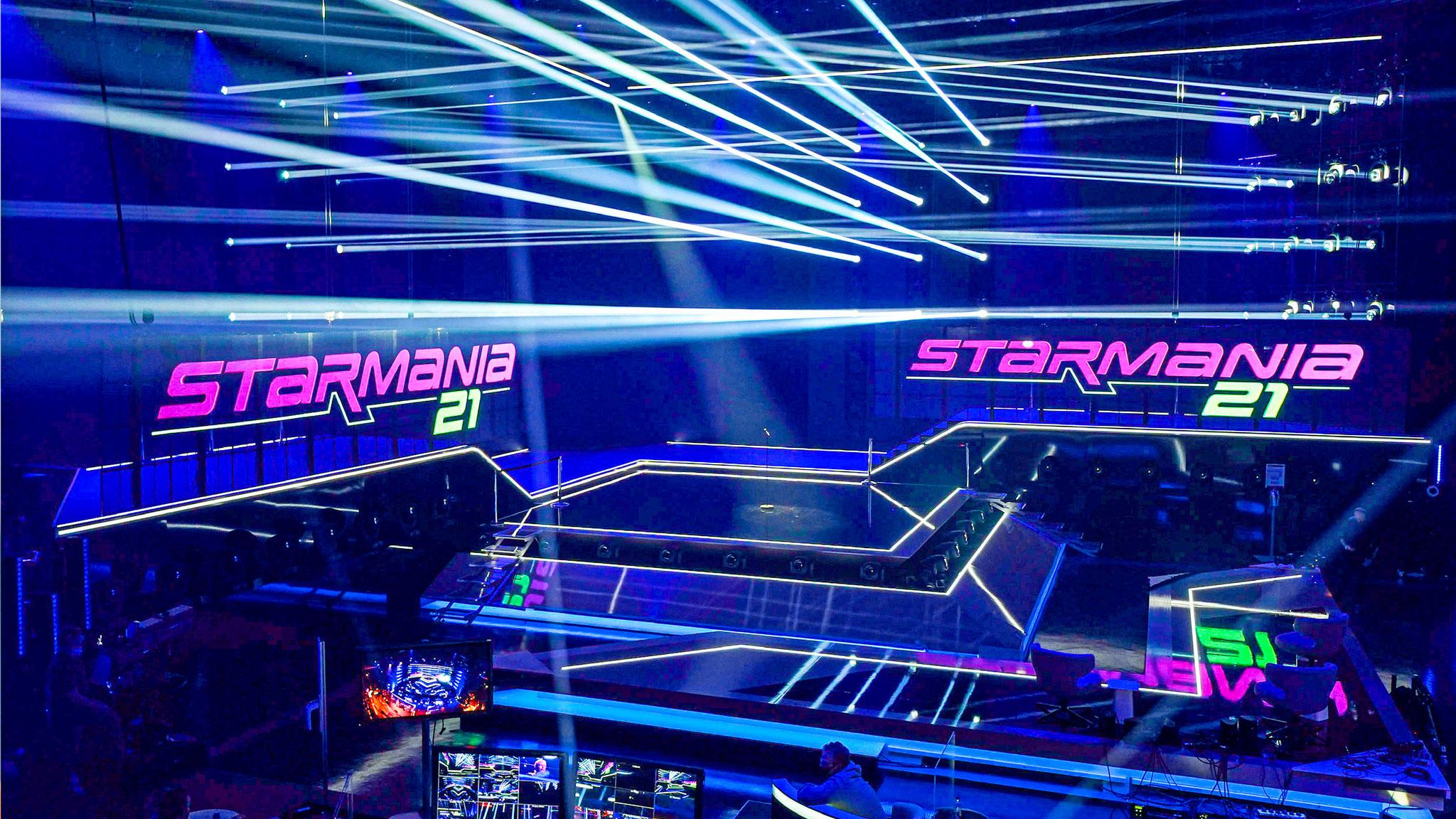 250 m2 auf mehreren Ebenen, 600 Scheinwerfer: So bombastisch ist die Starmania-Bühne!