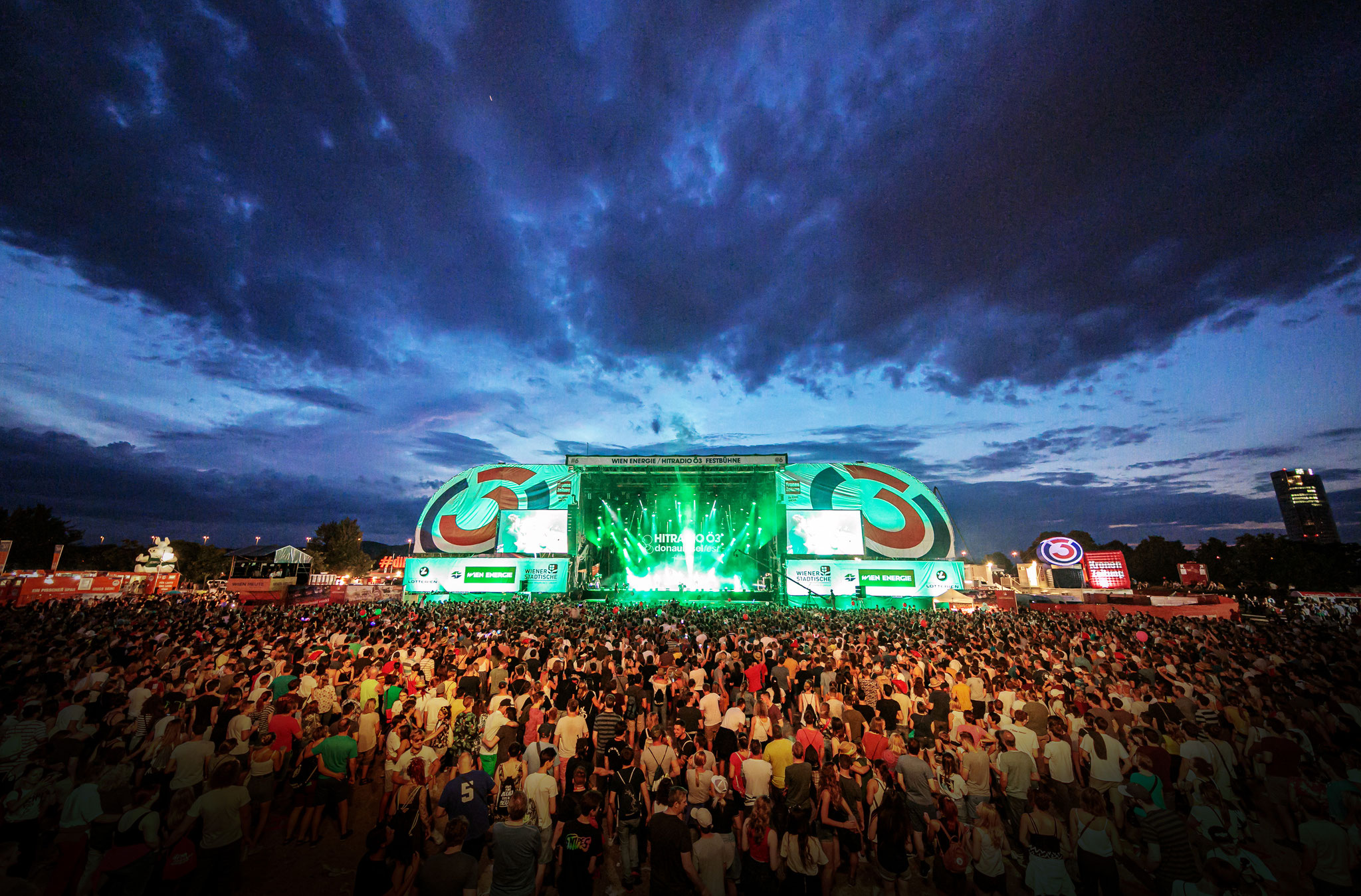 Das Wiener Donauinselfest findet erst Mitte  September 2020 statt. (c) Alex Müller