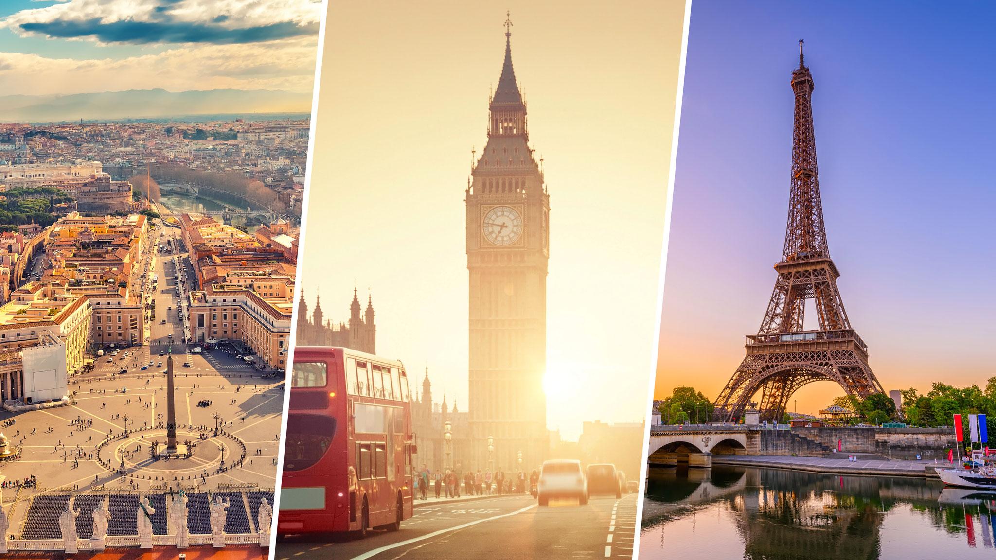 Über diese Städte wird am häufigsten gesungen