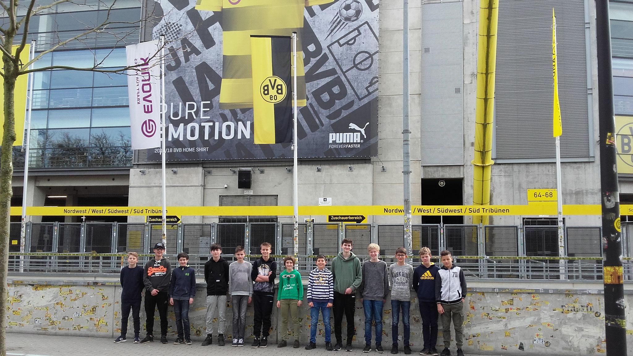 Zwischenstopp am Signal Iduna Park von Borussia Dortmund