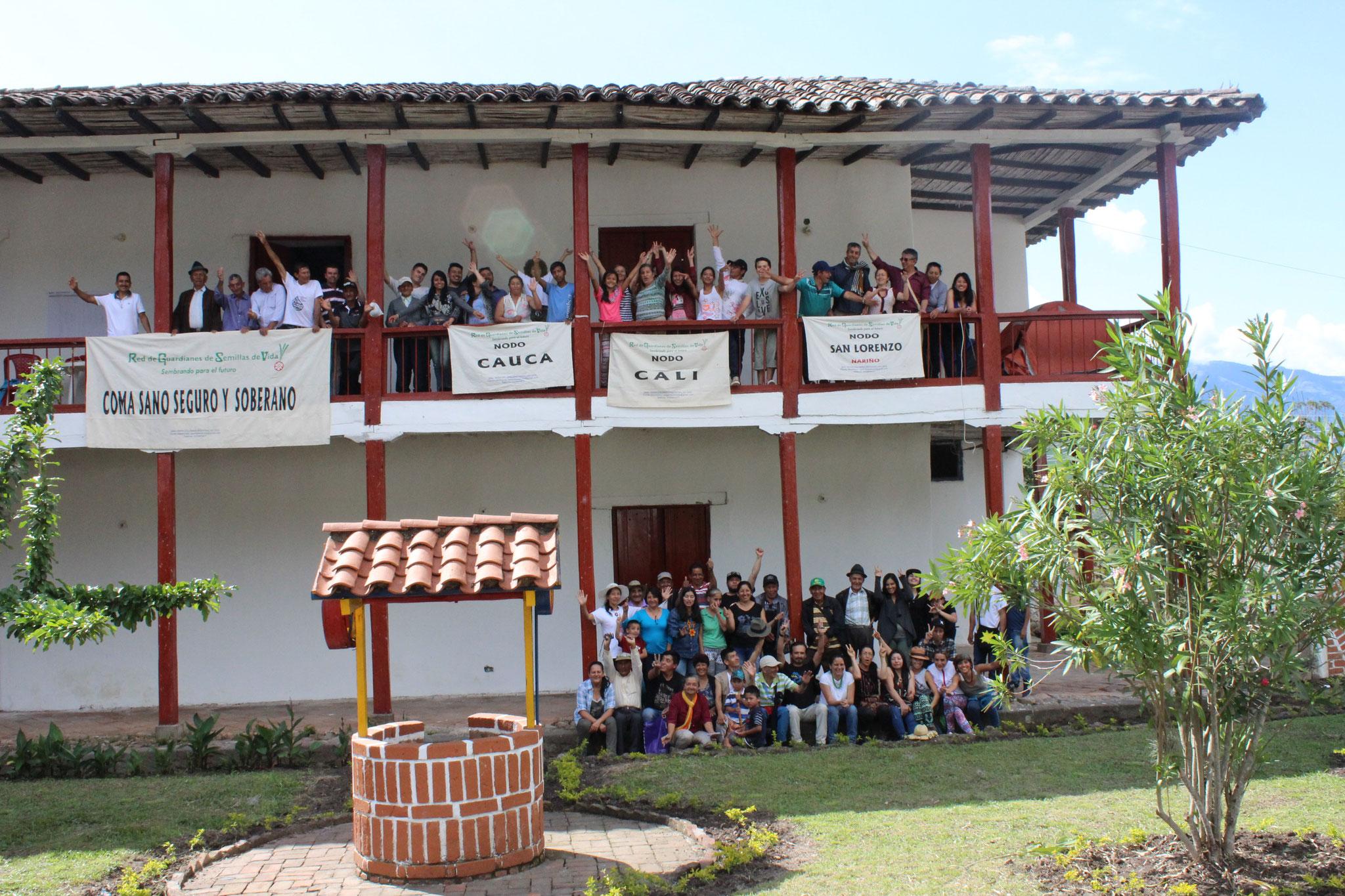 XII Encuentro de la RGSV. Cariaco Bajo. Nariño. Dic/2017