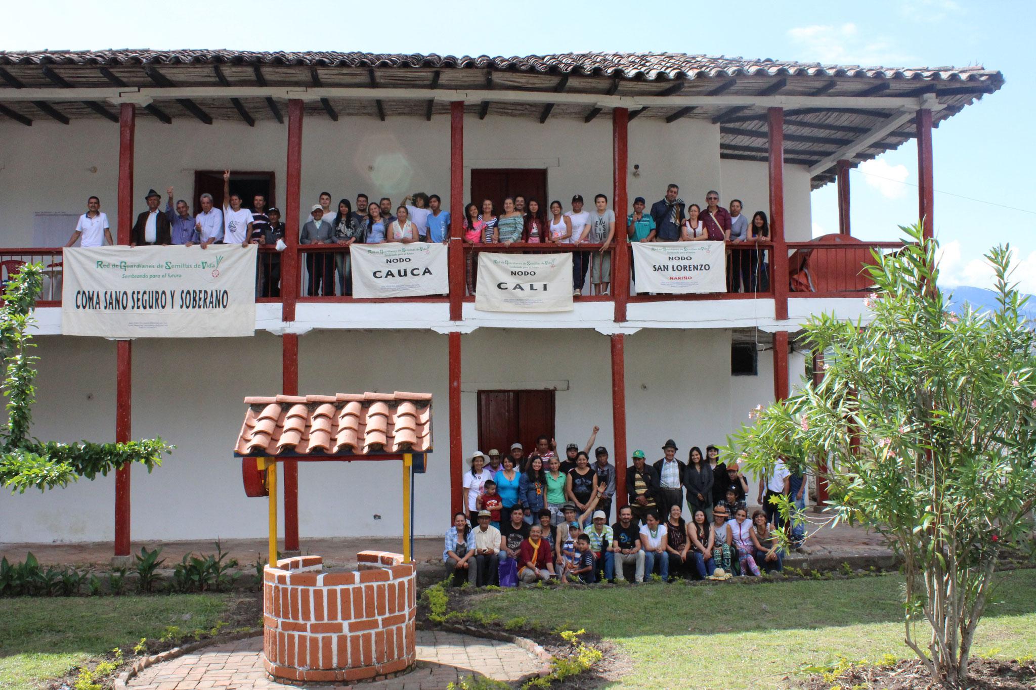 XII Encuentro de Guardianes de Semillas en Cariaco Bajo - Nariño. Dic/2018