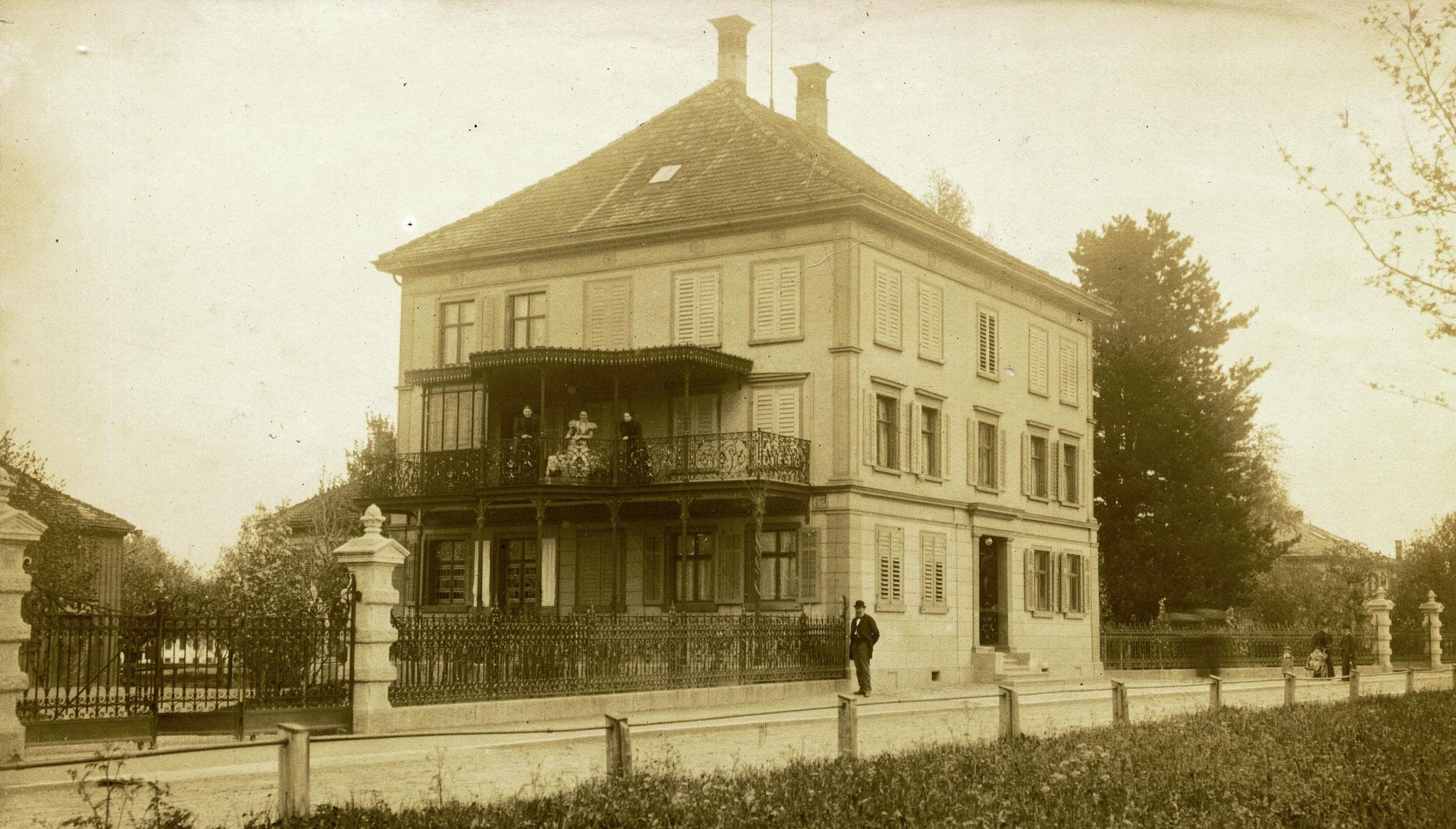 Das Lindengut um 1900