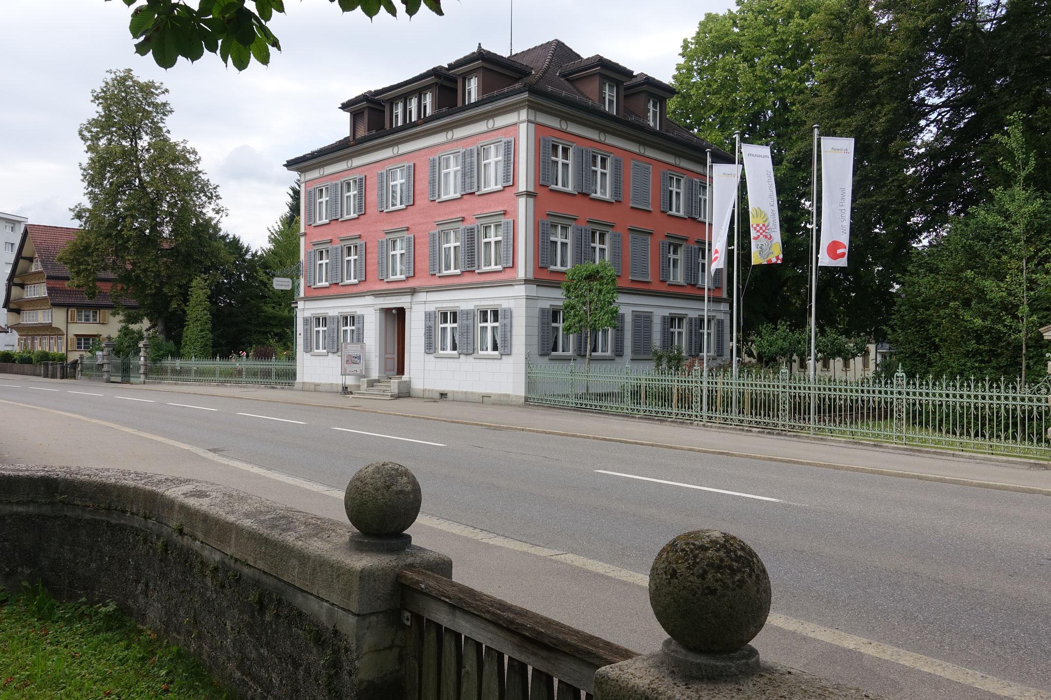 Das Lindengut - Fabrikantenvilla an der St.Gallerstrasse