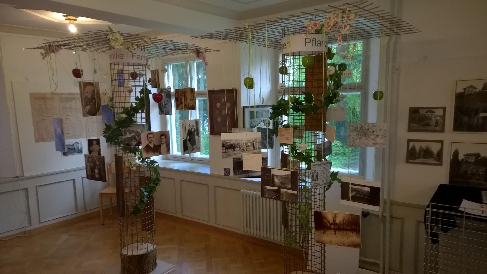 Der Saal ist meist mit Wechselausstellungen belegt, zwischendurch eignet er sich aber auch...