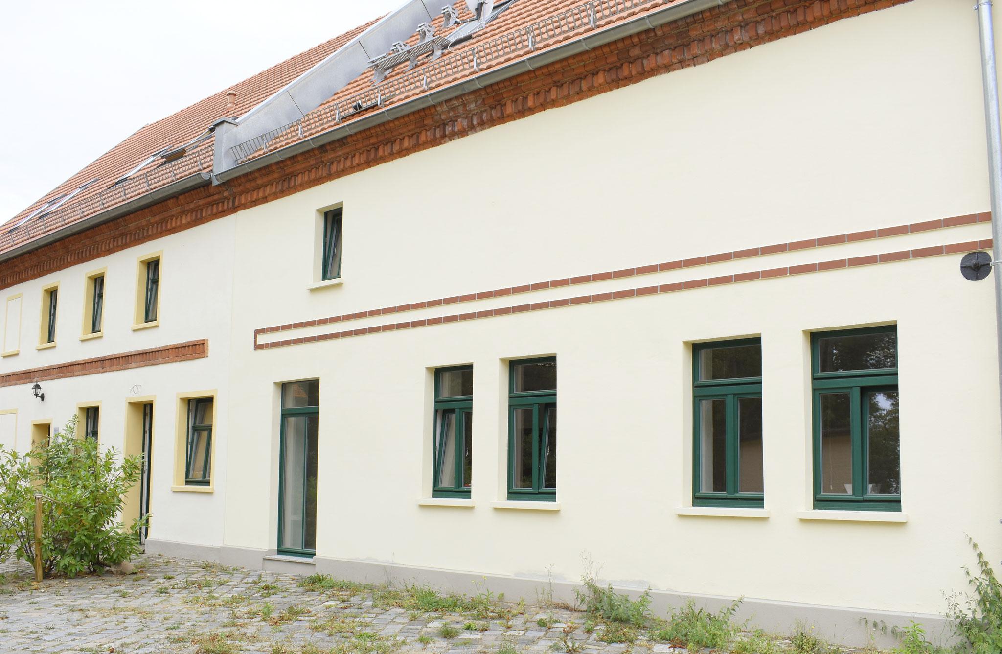 Rückseite Gebäude
