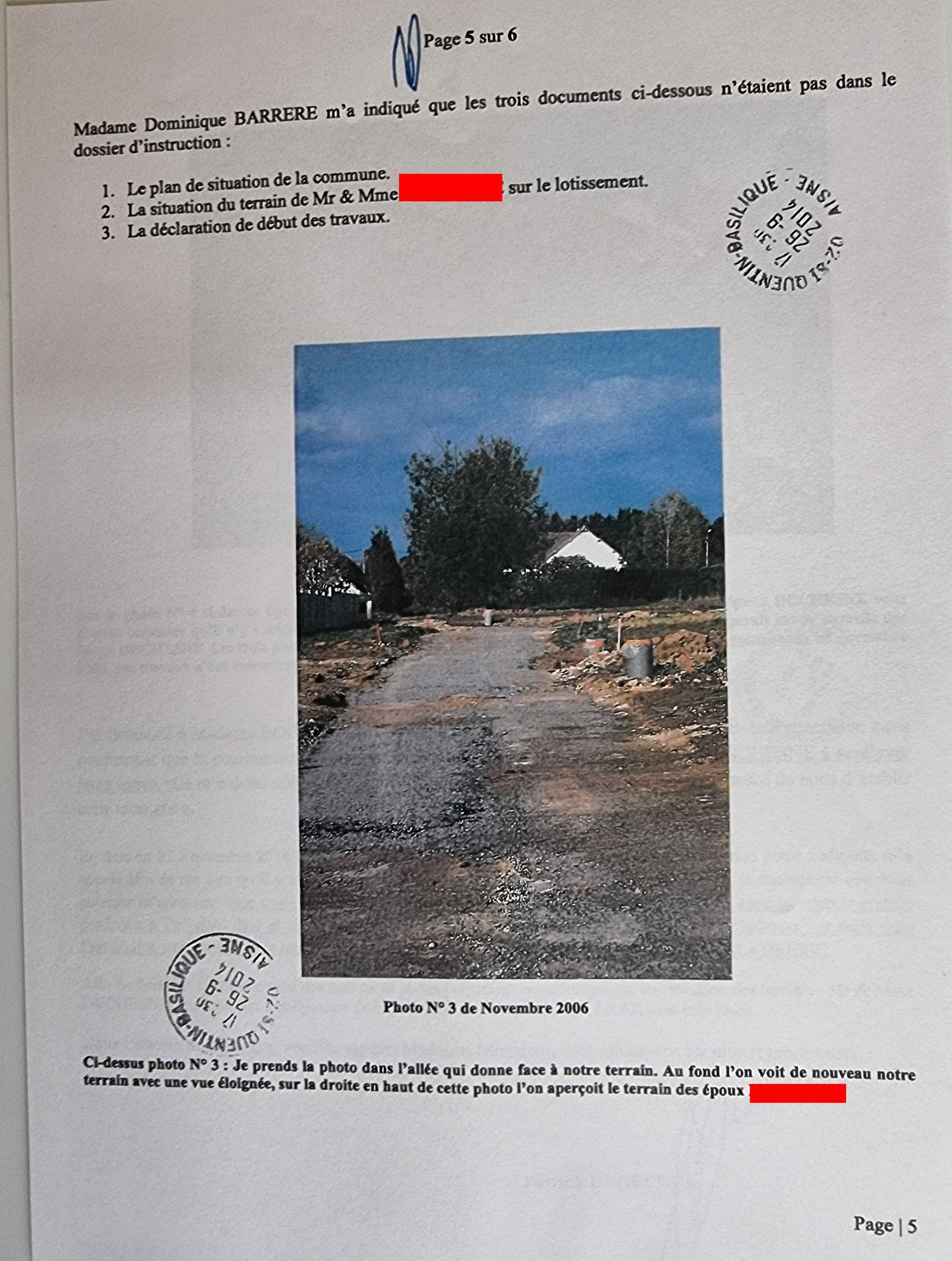 AFFAIRE MES CHERS VOISINS      Le Vendredi 26 Septembre 2014,  j'adresse une LRAR N0 1A 106 879 5912 6 de six pages en couleurs à la Communauté d'Agglomération de Saint-Quentin XB. www.jenesuispasunchien.fr www.jesuispatrick.fr www.jesuisvictime.fr