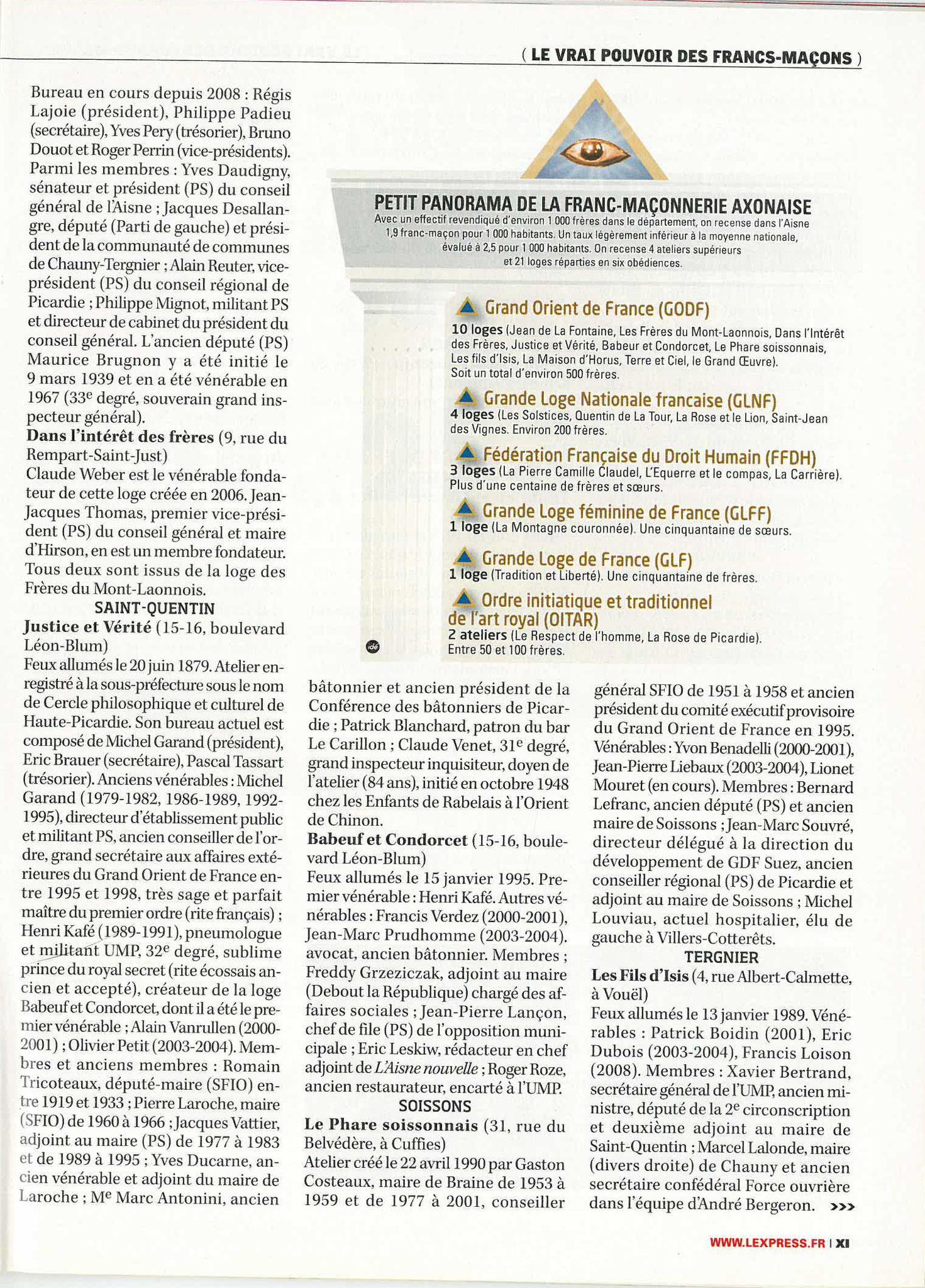 L'Express N°3067 Semaine du 15 au 21 Avril 2010 #StopCorruptionStop #StopViolencesStop #StopMafiaStop www.jenesuispasunchien.fr www.jesuisvictime.fr www.jesuispatrick.fr NE RENONCEZ JAMAIS LE PAIN & LA LIBERTE POUSSENT SUR LA MÊME TIGE #StopManipulations