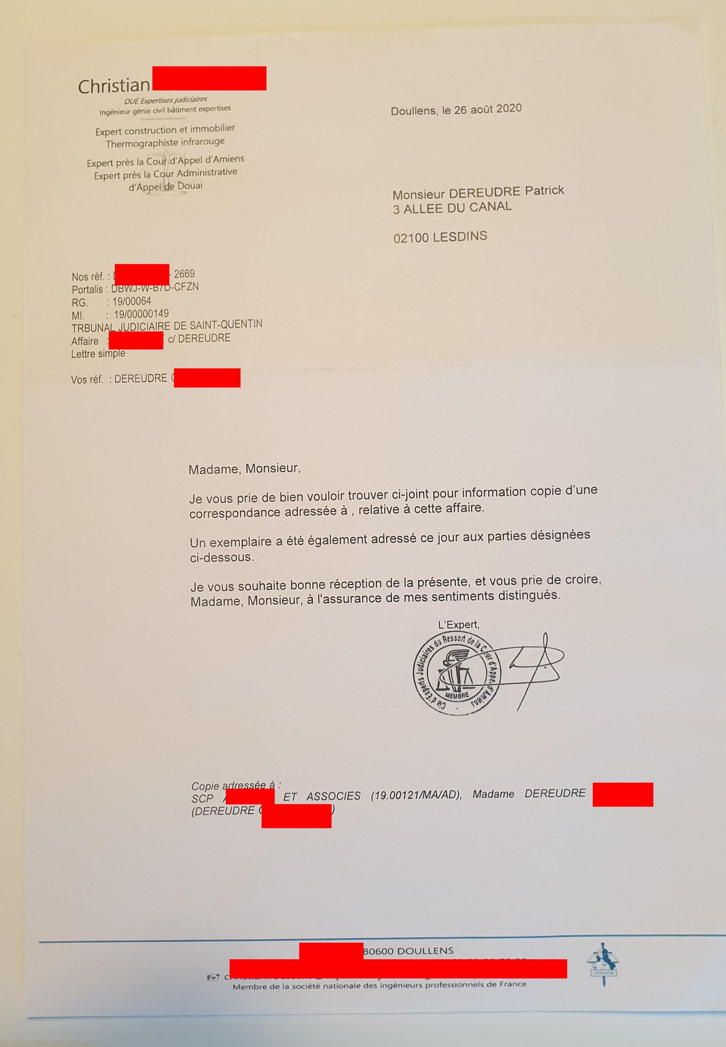 Affaire Mes Chers Voisins qui nous réclame un mur de 35000€ + Pénalités Assignation au TGI de ST-Quentin / Mon SITEwww.jesuisvictime.fr www.jesuispatrick.fr