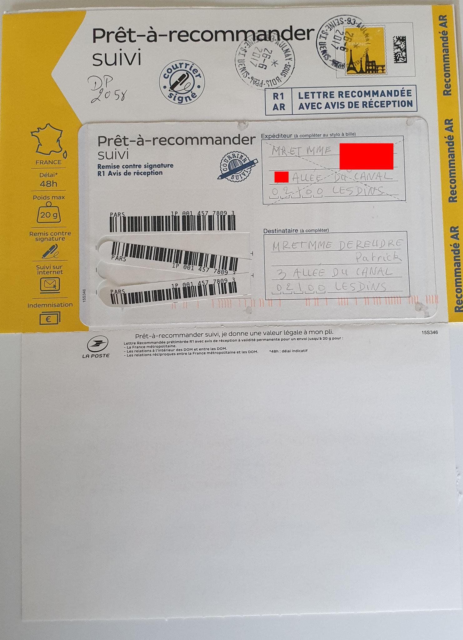 Nos chers voisins nous adresse une lettre recommandée en date du 26 Juin 2017 N0 1P 001 457 7809 3 www.jesuisvictime.fr www.jesuispatrick.fr www.jenesuispasunchien.fr PARJURE & CORRUPTION