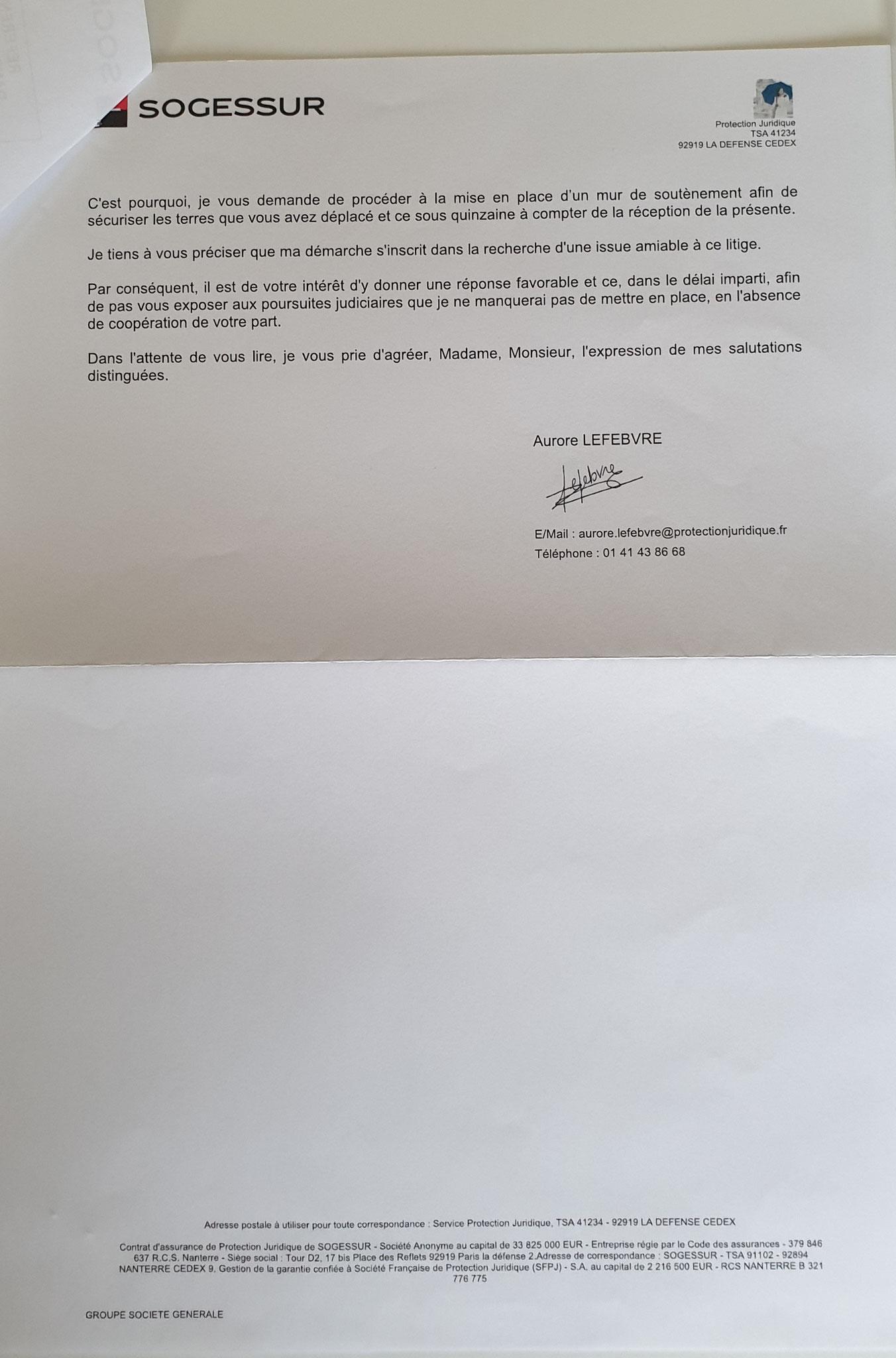 AFFAIRE NOS CHERS VOISINS LRAR Du 15 septembre 2017 N°  2C 124 057 6596 5 (deux pages) www.jesuisvictime.fr www.jesuispatrick.fr www.jenesuispasunchien.fr PARJURE & CORRUPTION