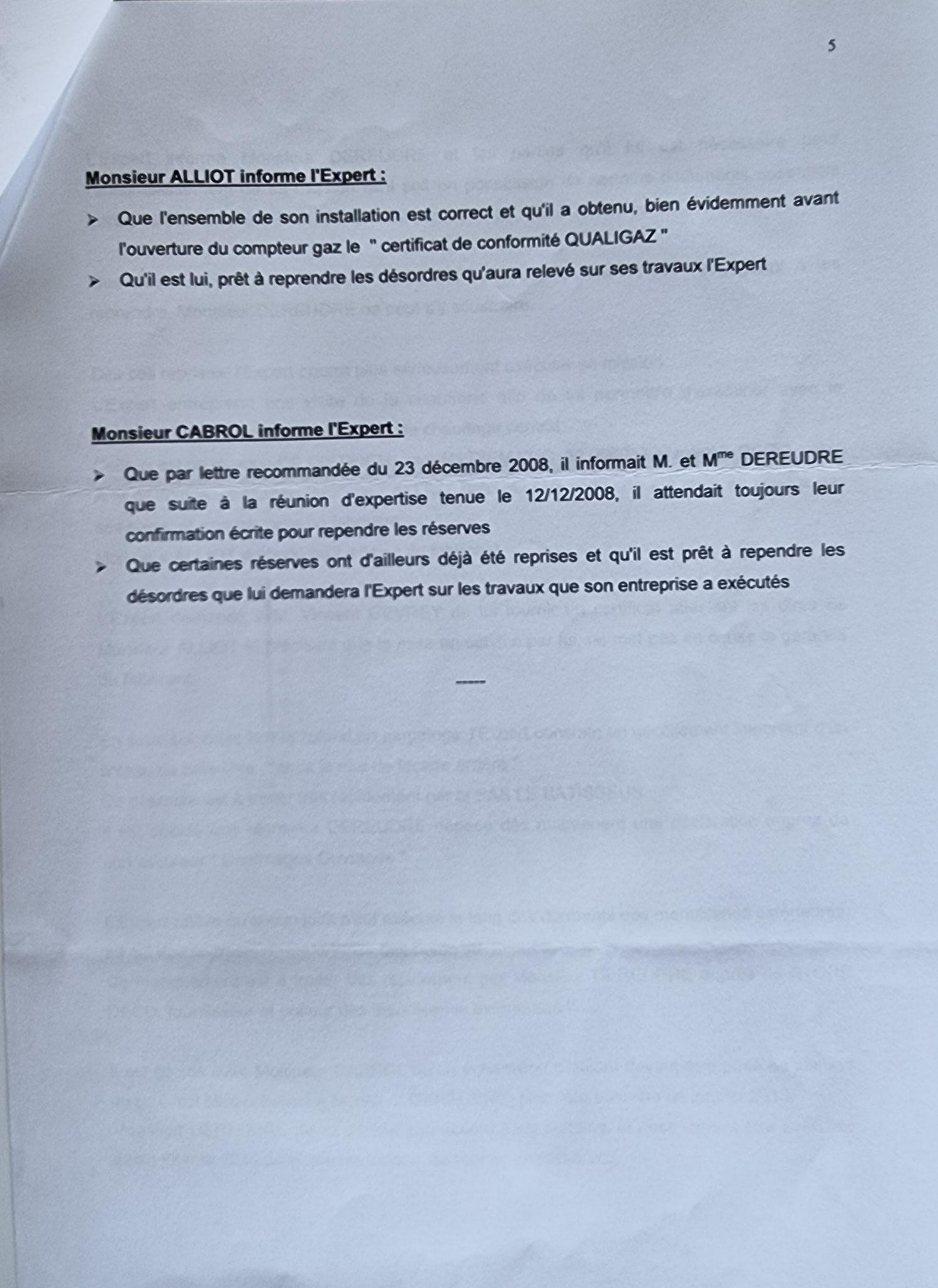 Le 29 décembre 2009 Monsieur Bernard MARRON Expert Judiciaire auprès de la Cour d'Appel d'Amiens m'adresse son premier rapport Judiciaire.  INACCEPTABLE  BORDERLINE    EXPERTISES JUDICIAIRES ENTRE COPAINS... www.jesuisvictime.fr www.jesuispatrick.fr